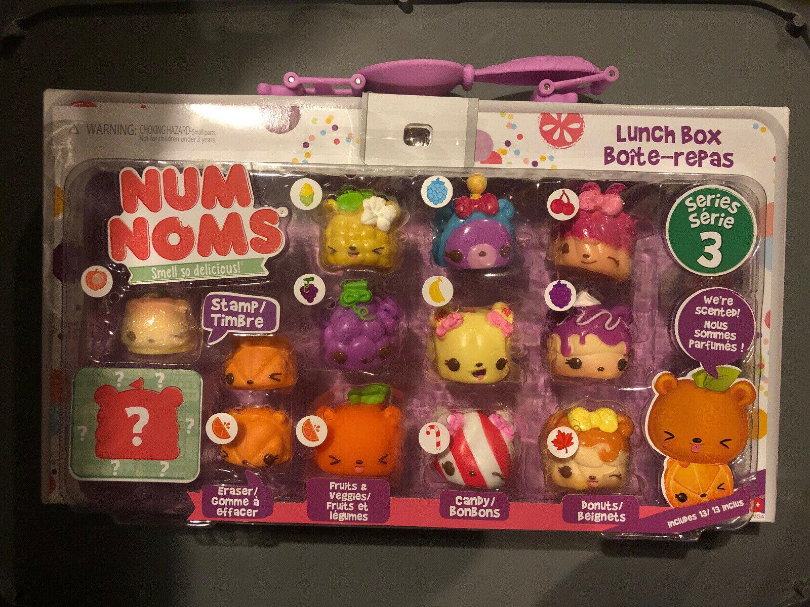 Num Noms Series 3 Lunch Box Deluxe Pack 10 Scented Nums 2 avec Nom De Legume