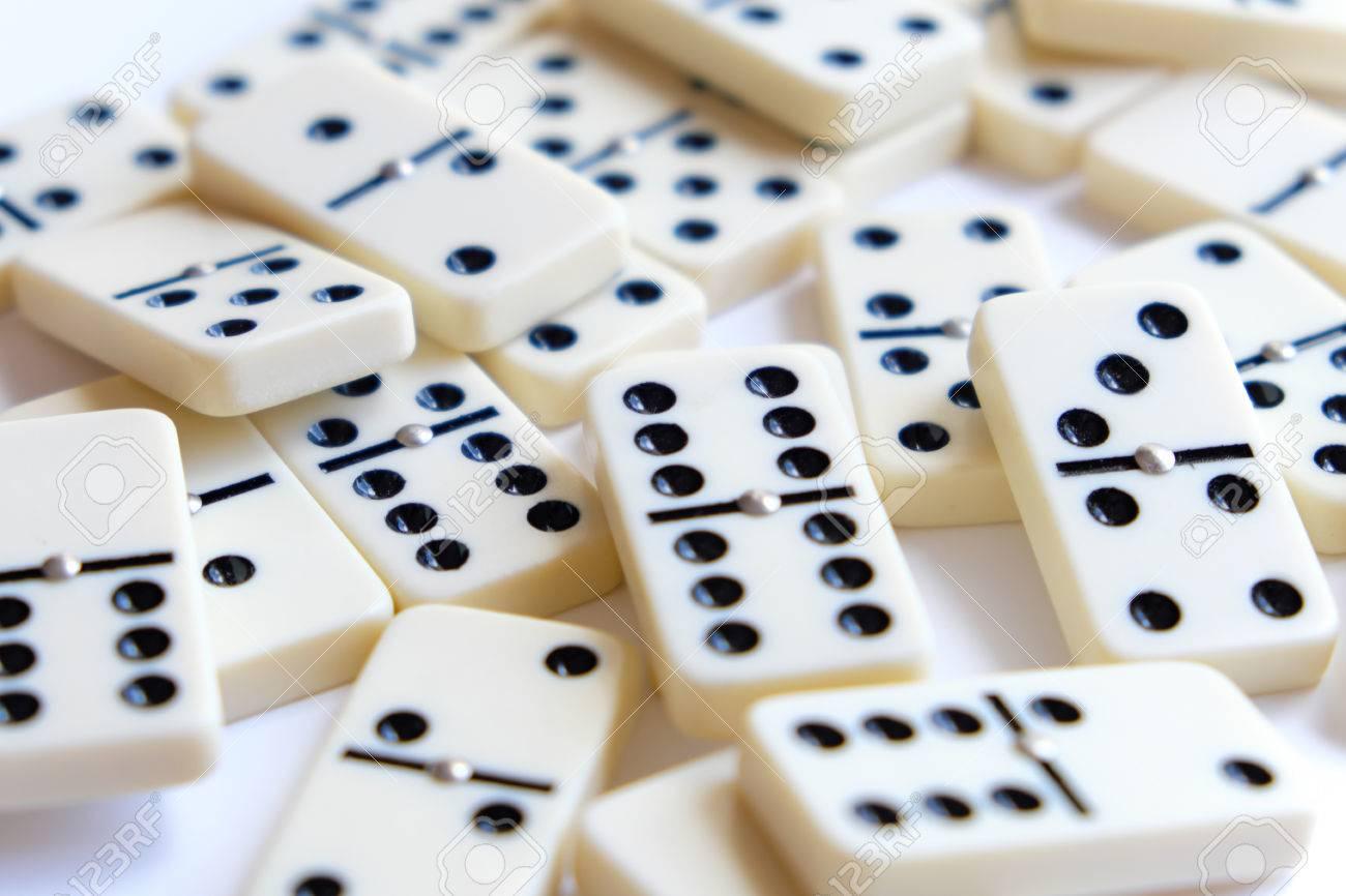 Numéros De Dominos - Jetons De Jeu De Domino pour Jeu Du Domino