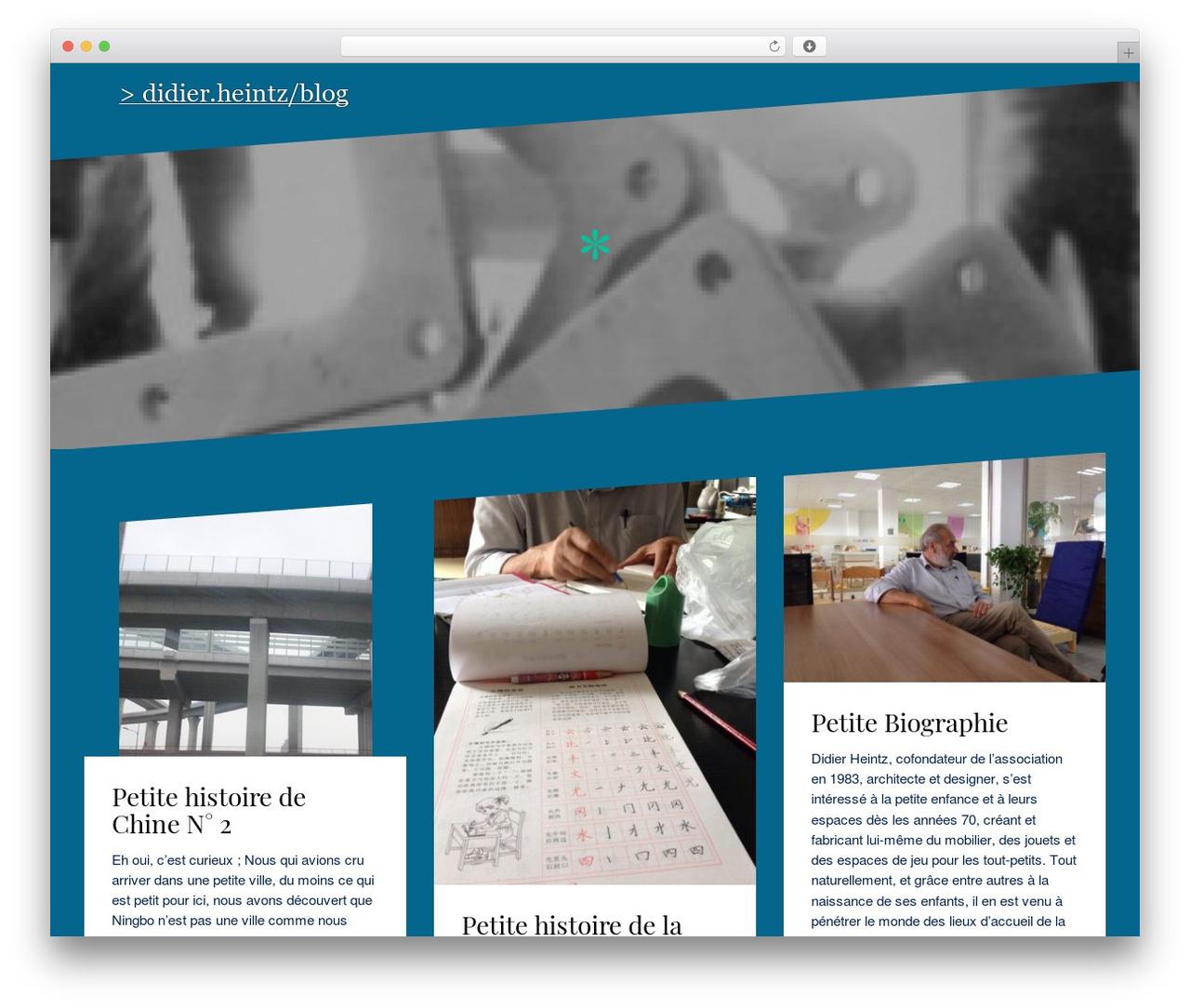 Oblique Wordpress Theme Free Download By Themeisle encequiconcerne Site Pour Tout Petit
