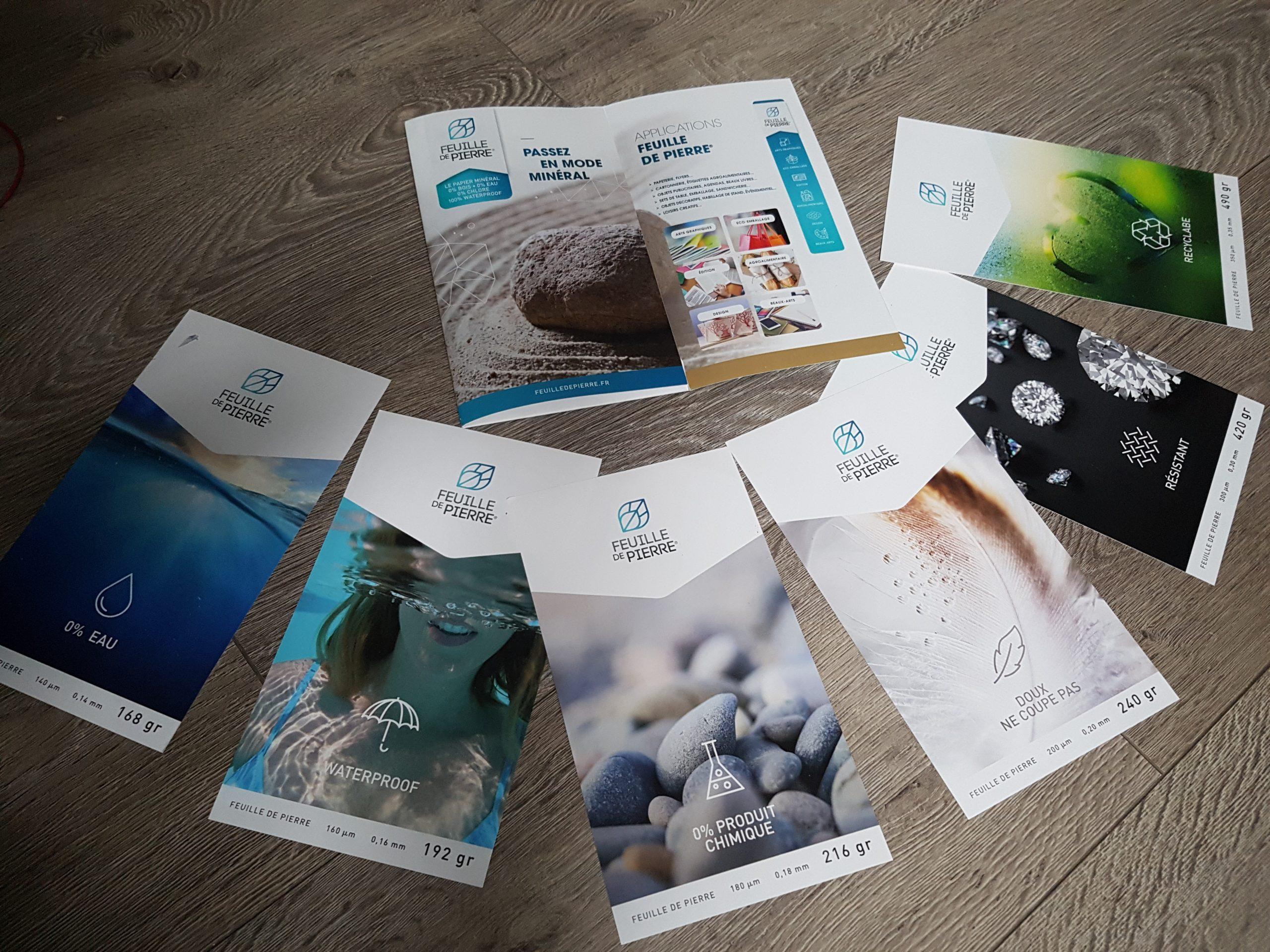 On A Testé La Feuille De Pierre, Découvrez Ce Papier Hors à Papier Plastifié Imprimable