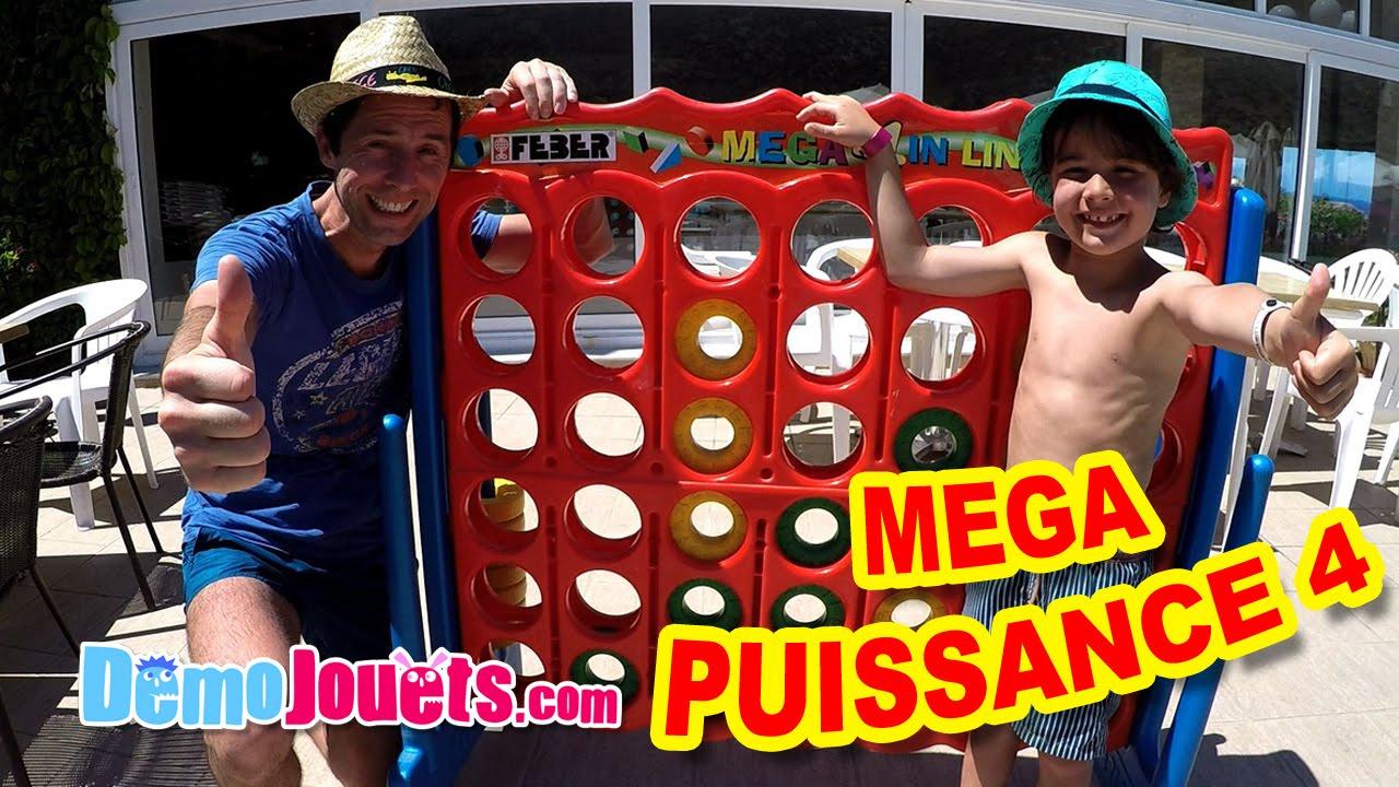 On Joue Avec Mega 4 ! Un Puissance 4 Géant - Démo Jouets avec Jouer A Puissance 4
