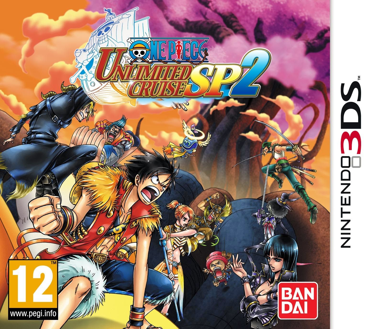 One Piece Unlimited Cruise Sp 1& 2 Rom +Emulator [3Ds] - One concernant Jeux Flash A 2
