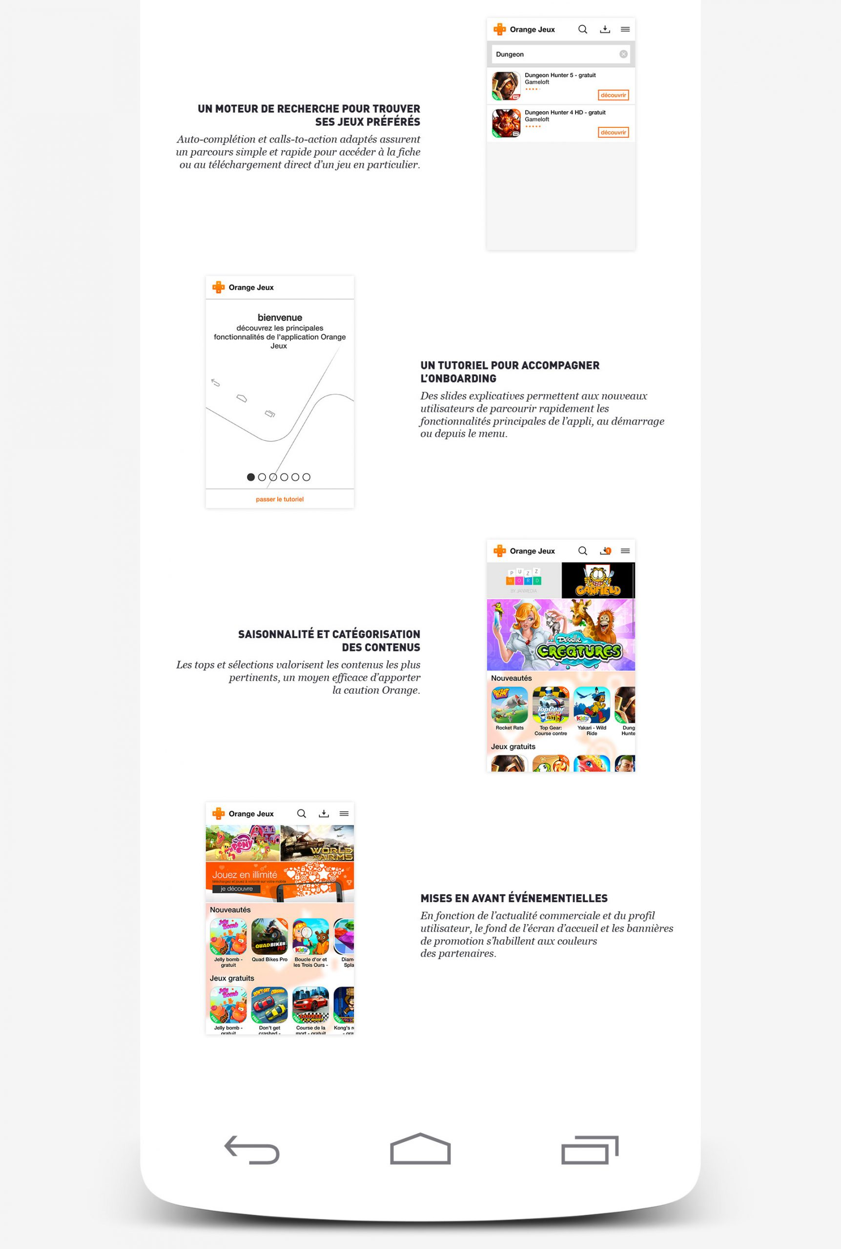 Orange Games Application Design On Behance tout Jeux De Course Online