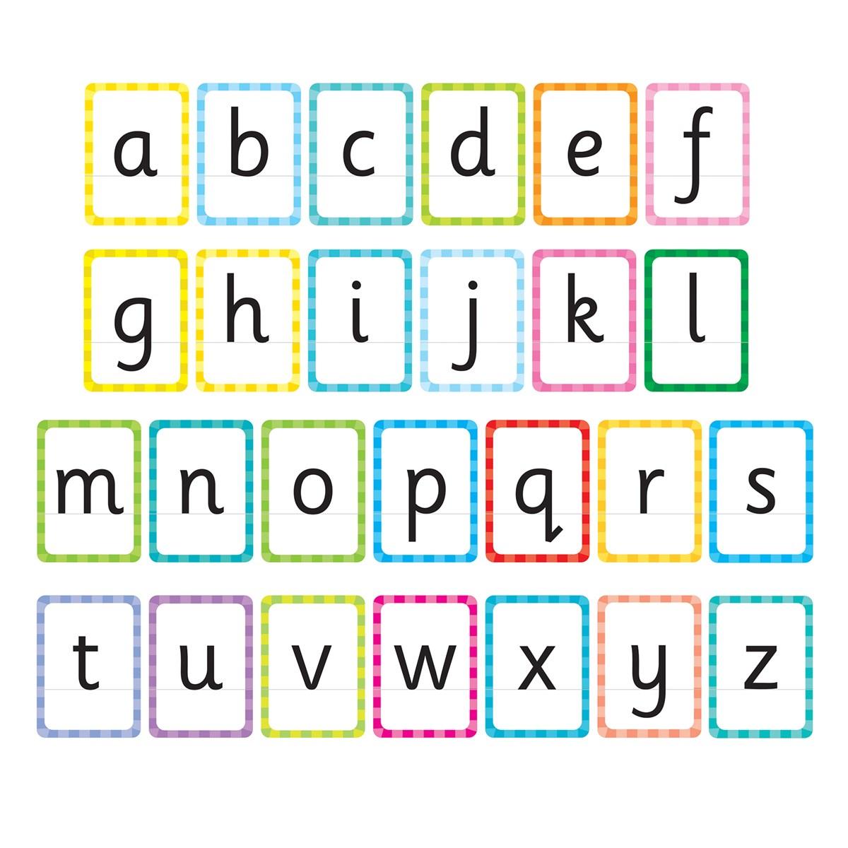 Orchard Toys Flashcards Lettres De Lalphabet Jeux Éducatifs pour Jeux Flash A 2