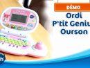 Ordi P'tit Genius Ourson - Le Premier Ordinateur Des Petits Curieux | Vtech avec Ordinateur Educatif 3 Ans