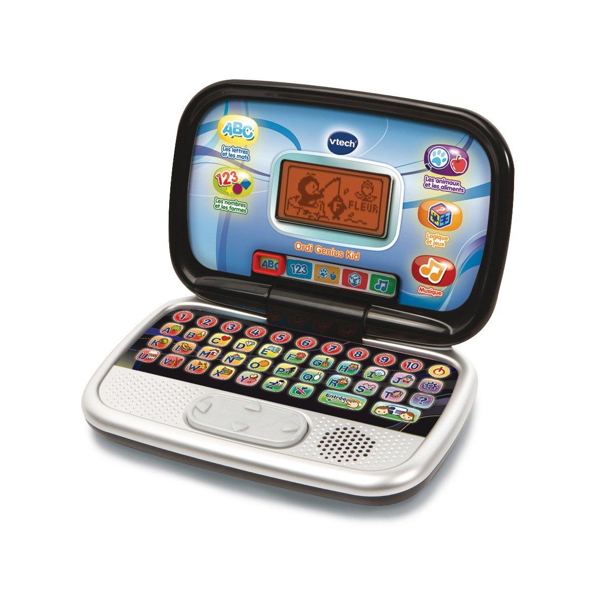 Ordinateur Genius Kid - Jeux Éducatifs - La Grande Récré destiné Ordinateur Educatif 3 Ans