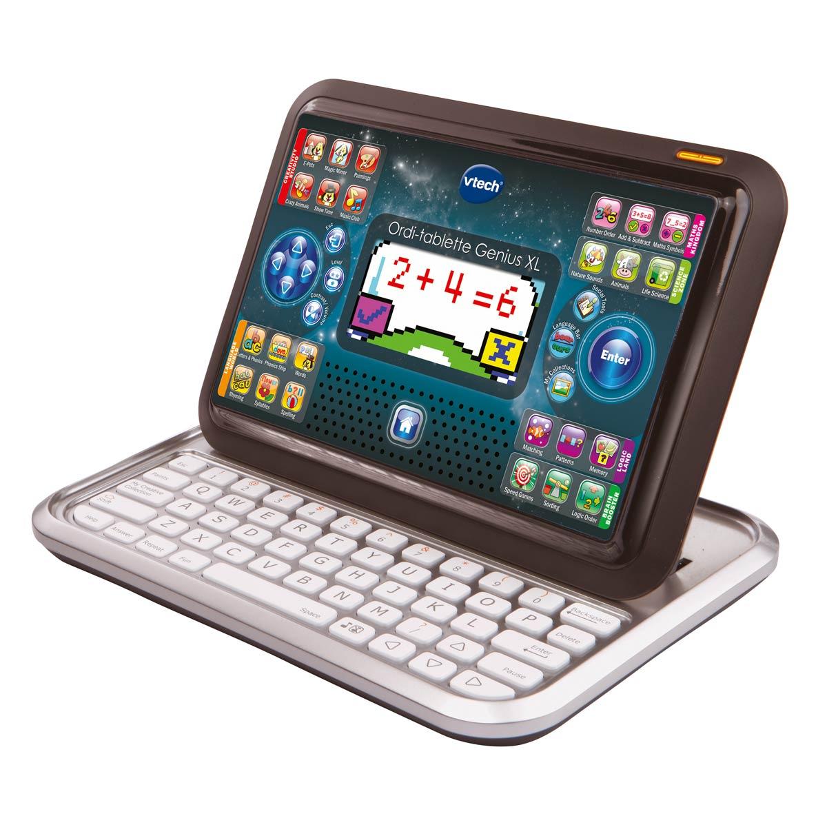 Ordinateur Tablette Genius Xl Noir intérieur Tablette Pour Enfant De 4 Ans