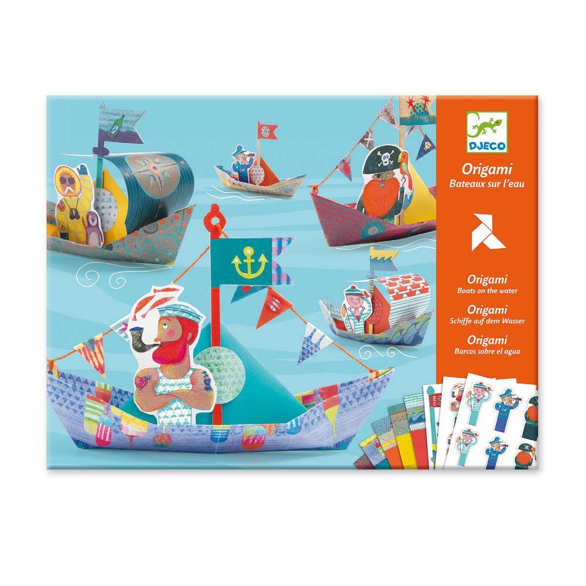 Origami Bateaux Sur L'eau Djeco Pour Enfant De 6 Ans À 11 pour Jeux Pour Enfant De 11 Ans