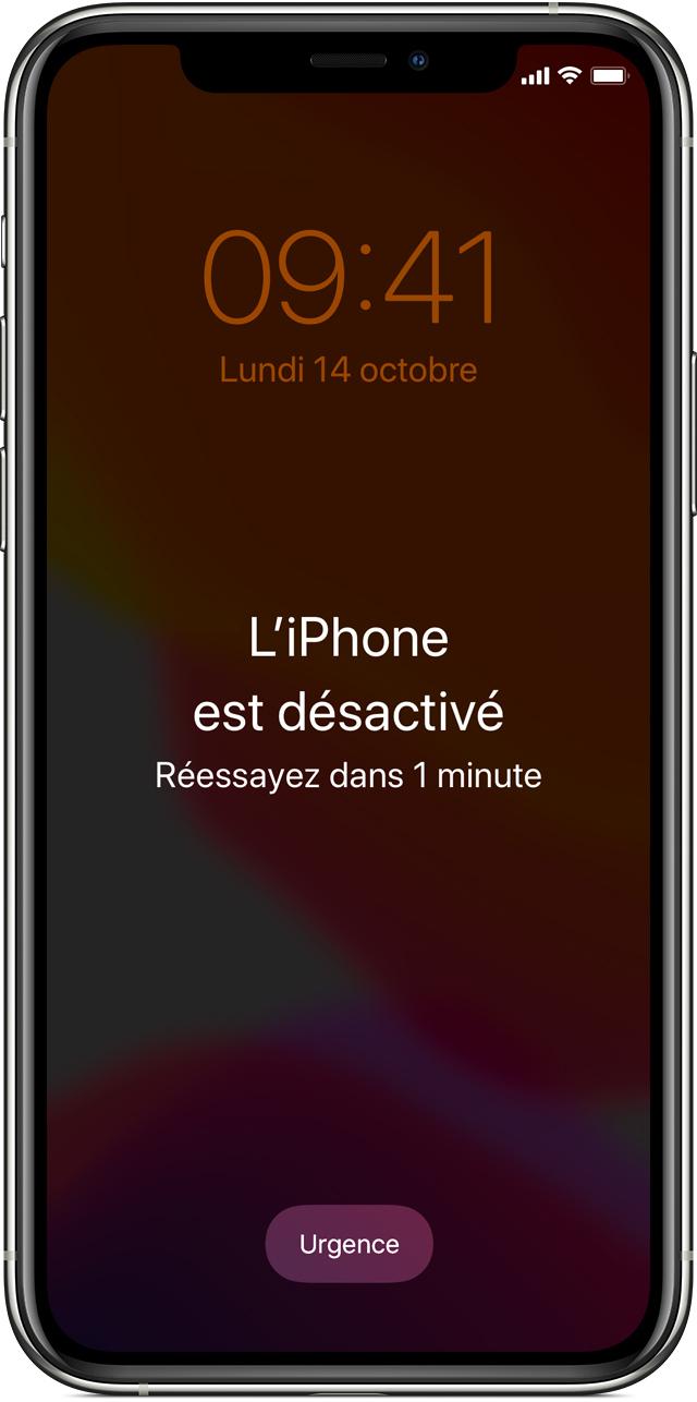 Oubli Du Code D'accès De Votre Iphone, Ipad Ou Ipod Touch intérieur Aide Pour 4 Images Un Mot