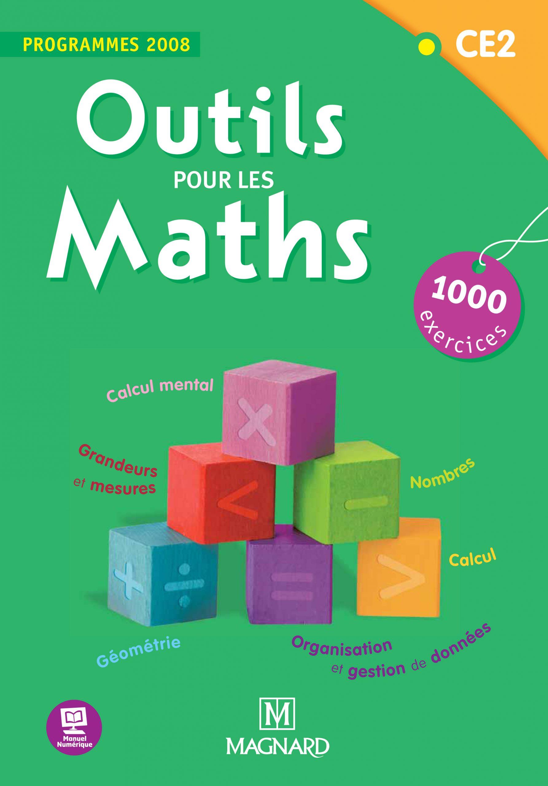 Outils Pour Les Maths Ce2 (2012) - Livre De L'élève encequiconcerne Exercice Ce2 En Ligne Gratuit