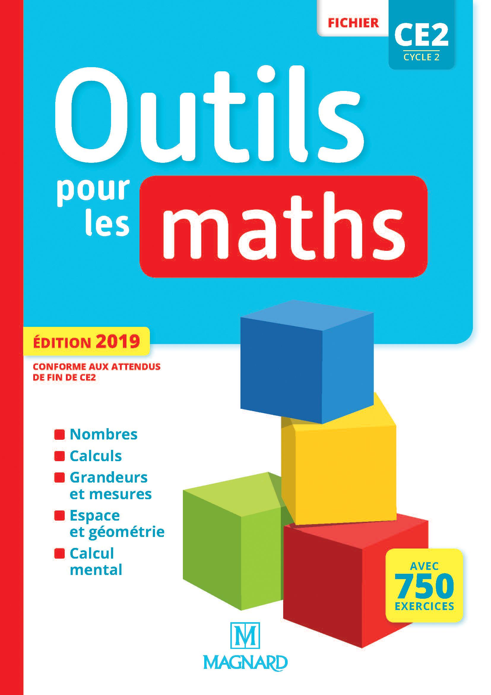Outils Pour Les Maths Ce2 (2019) - Fichier De L'élève pour Exercice De Ce2 En Ligne
