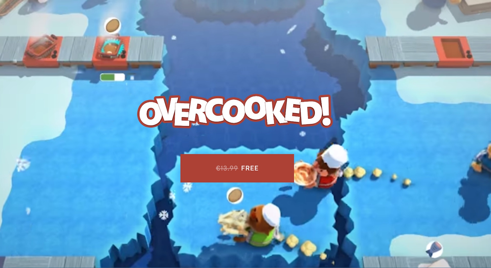 Overcooked Est Temporairement Gratuit : Foncez Télécharger destiné Jeux Pc Sans Telechargement
