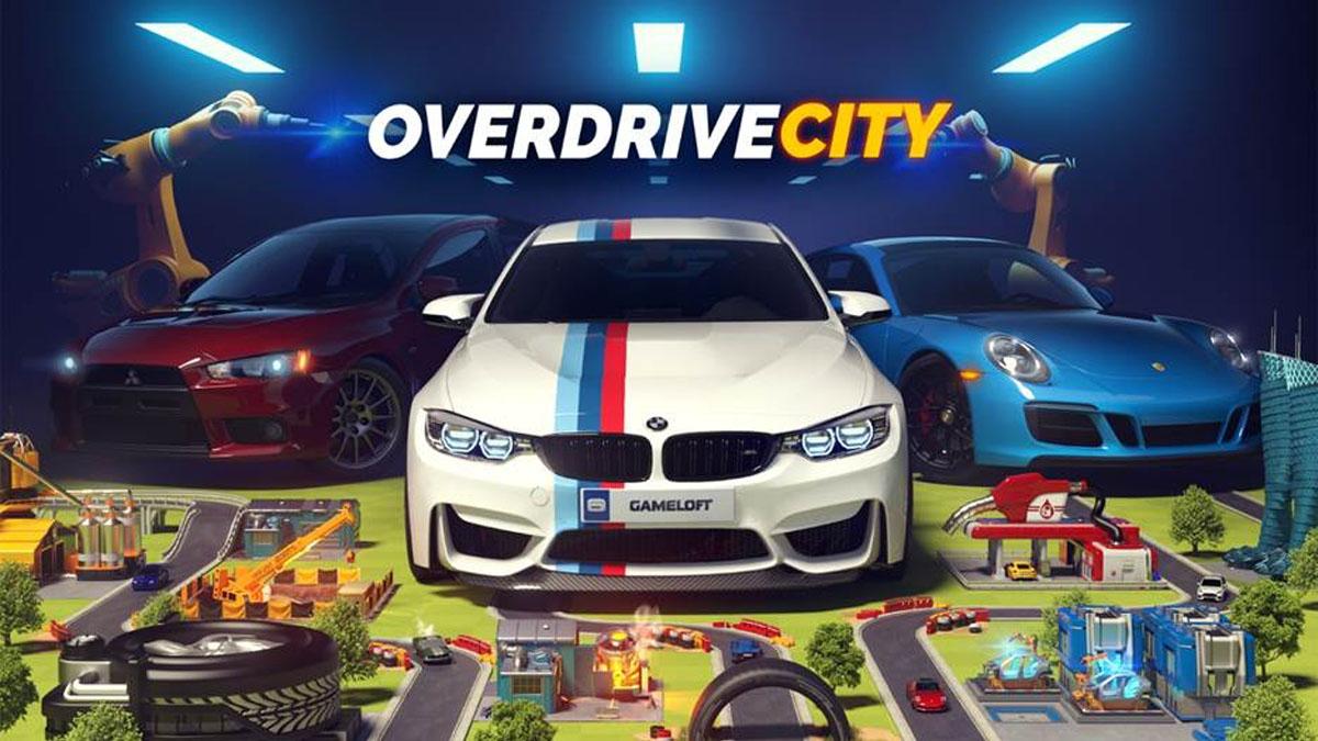 Overdrive City - Des Voitures Dans Ton Téléphone ! | Lpdd dedans Jeux De Voiture Qui Joue À 2