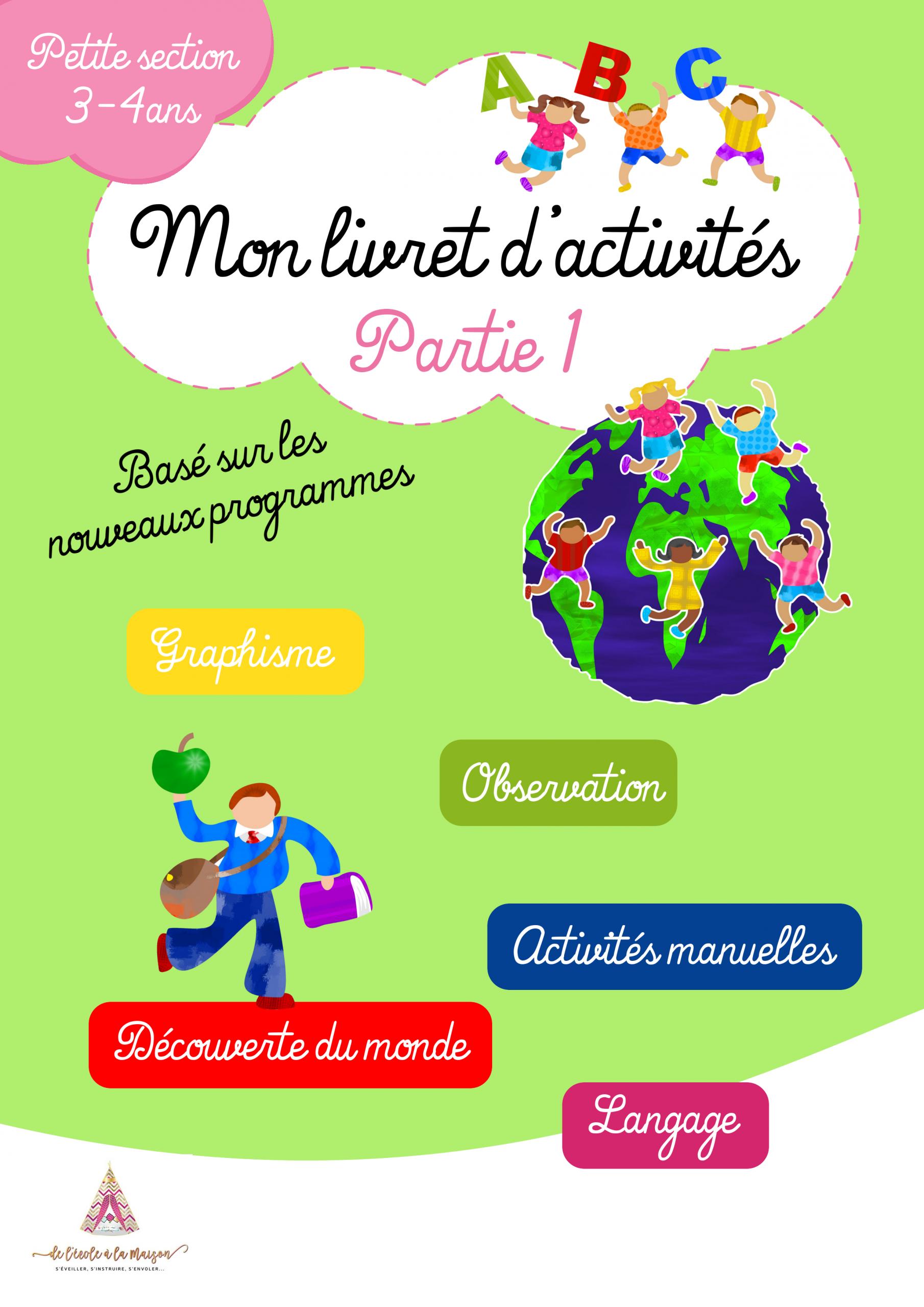 Pack Petite Section Maternelle dedans Activité Maternelle Petite Section