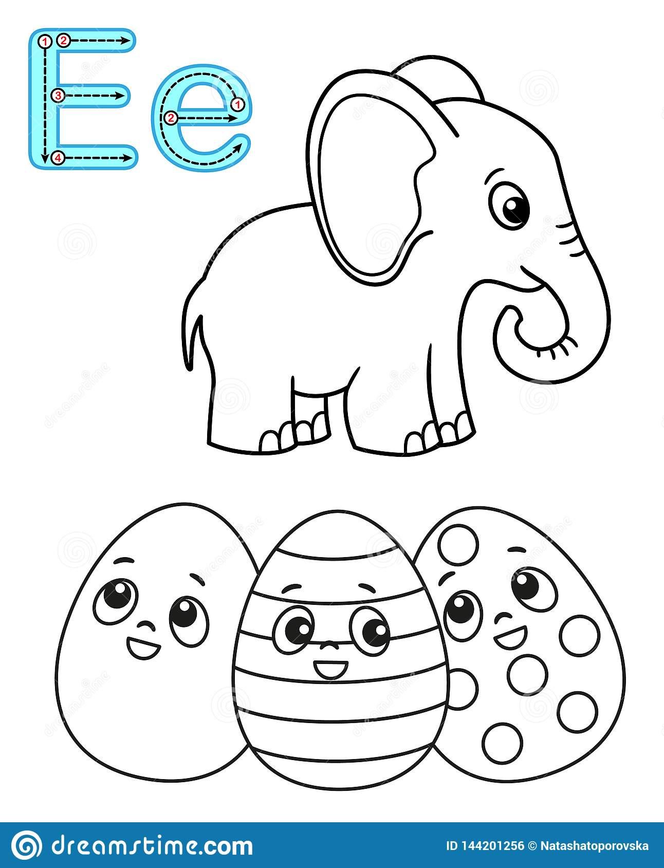 Page De Coloration Imprimable Pour Le Jardin D'enfants Et L avec Alphabet À Colorier Maternelle