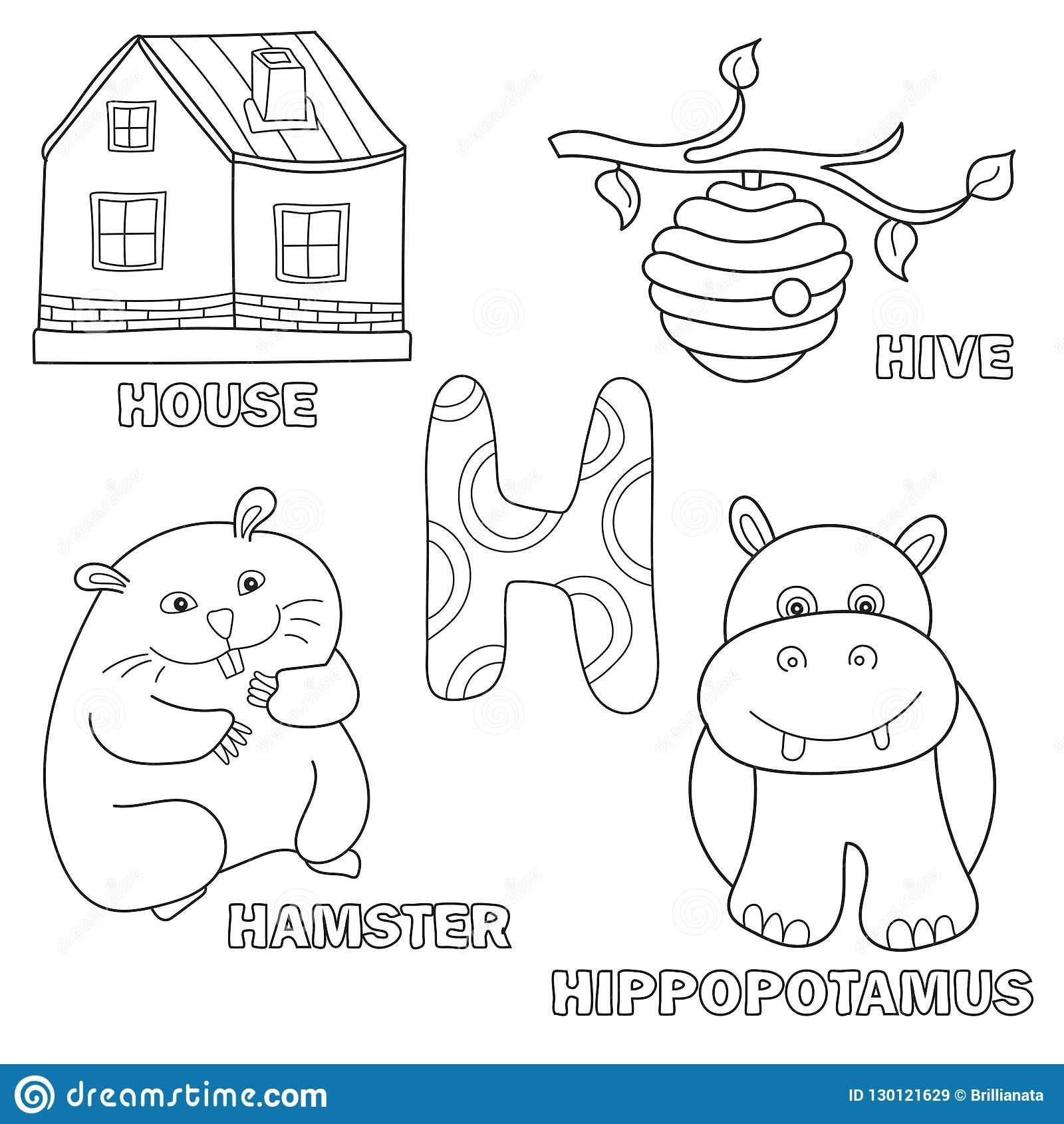 Page De Livre De Coloriage D'alphabet D'enfants Avec Des destiné Coloriage D Alphabet