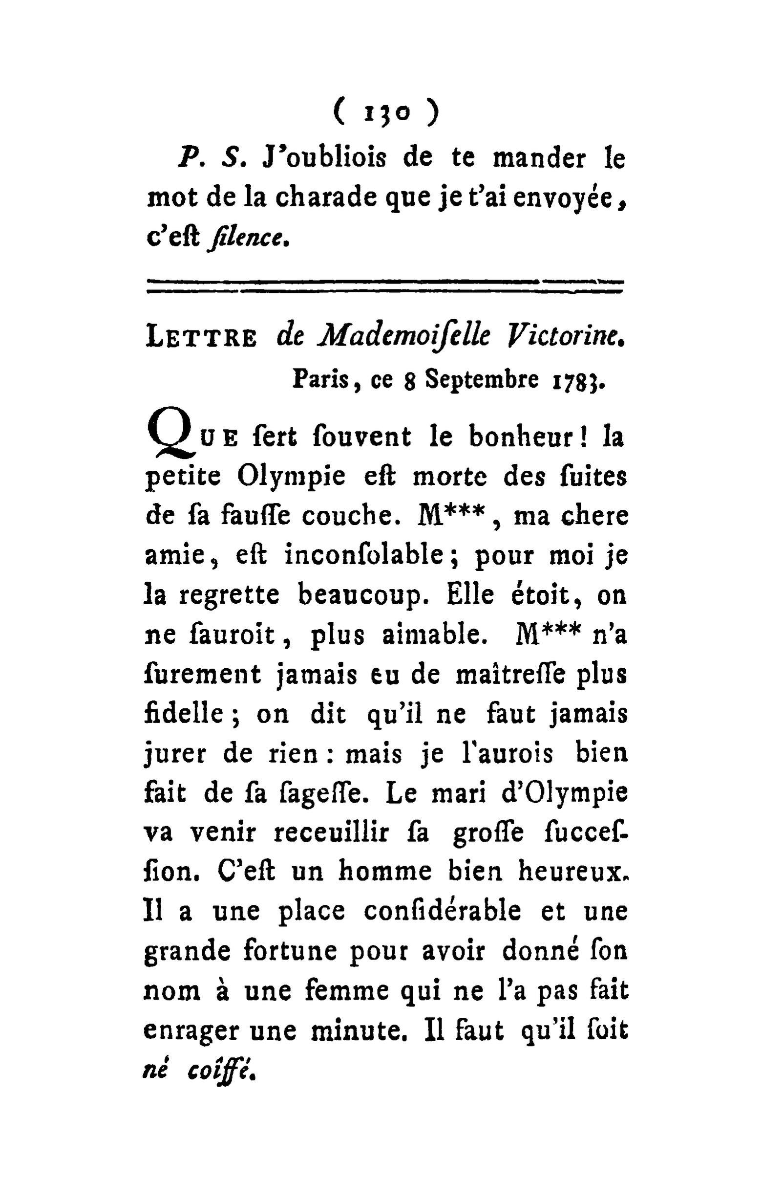 Page:correspondance D'eulalie, 1785.djvu/350 - Wikisource encequiconcerne Charade A Imprimer