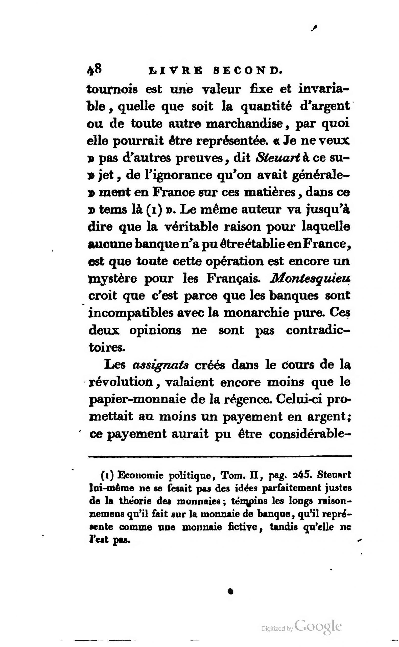 Page:say - Traité D'économie Politique, 1803, Ii.djvu/56 encequiconcerne Monnaie Fictive