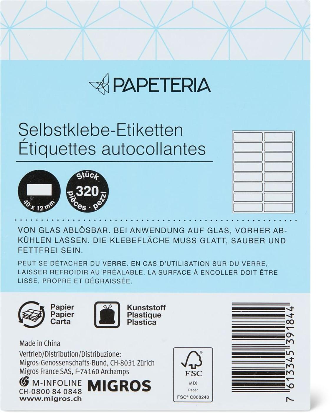 Papeteria Etiquettes Autocollantes pour Etiquette Scolaire Personnalisé Gratuit