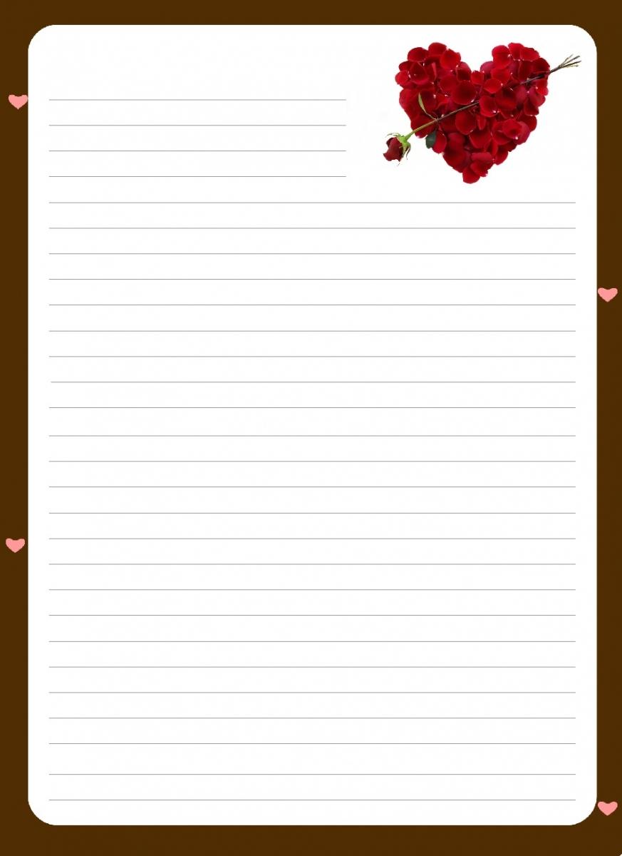 Papier À Lettre Archives - encequiconcerne Papier À Lettre Gratuit À Imprimer