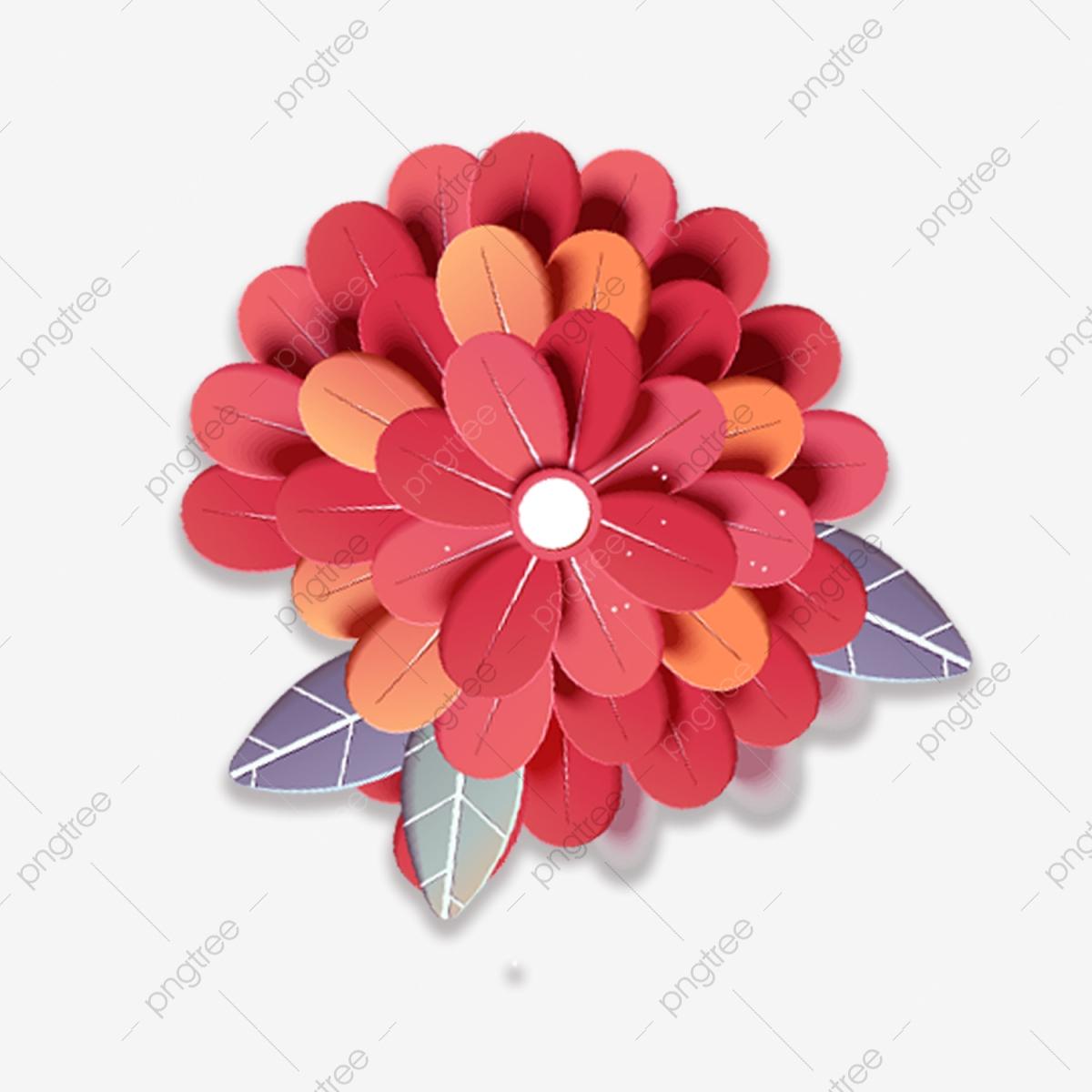 Papier Découpé En Trois Dimensions Fleur Fleurs, Papier tout Fleurs À Découper