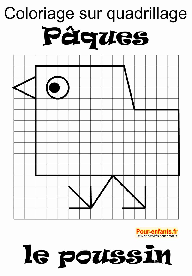 Pâques Jeux À Imprimer Maternelle Quadrillage Activités pour Jeux Mathématiques Cm2 À Imprimer