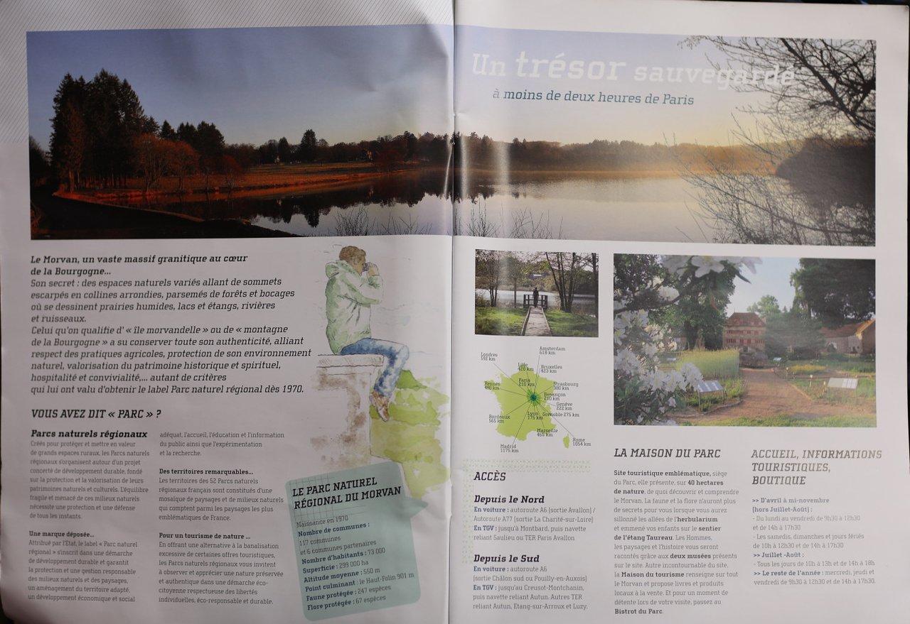 Parc Naturel Regional Du Morvan (Dun-Les-Places) - 2020 All destiné Combien Yat Il De Region En France