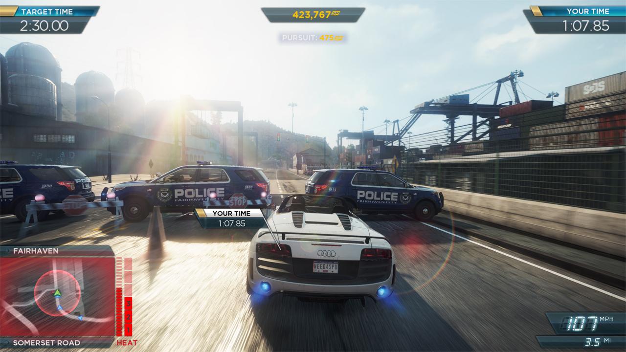 Parlons Jeu, Parlons Bien N°8 – Need For Speed : Most Wanted intérieur Jeux De Voiture Avec La Police