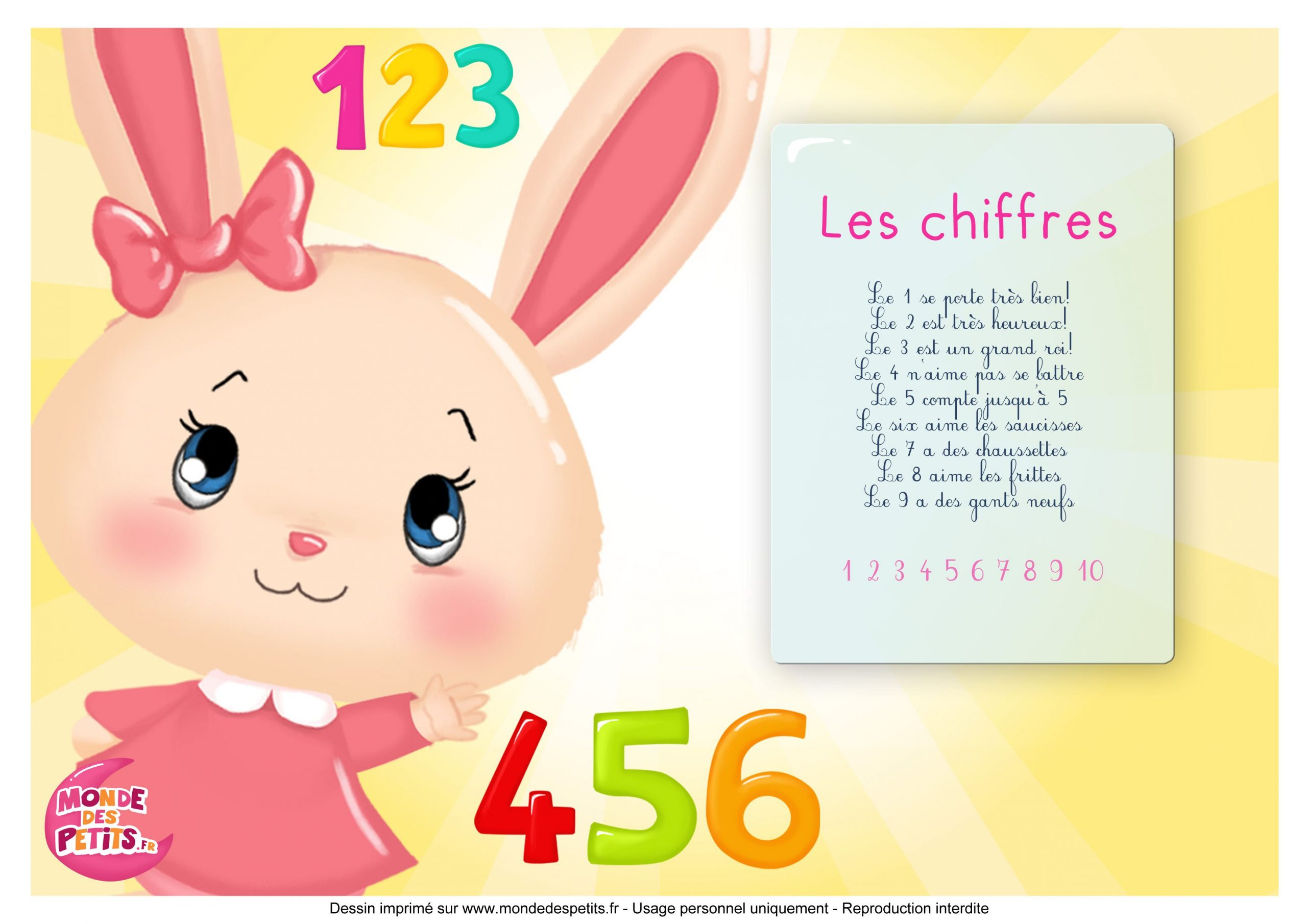 Paroles_La Chanson Des Chiffres Avec Les Princesses (Avec avec Chiffre Pour Enfant