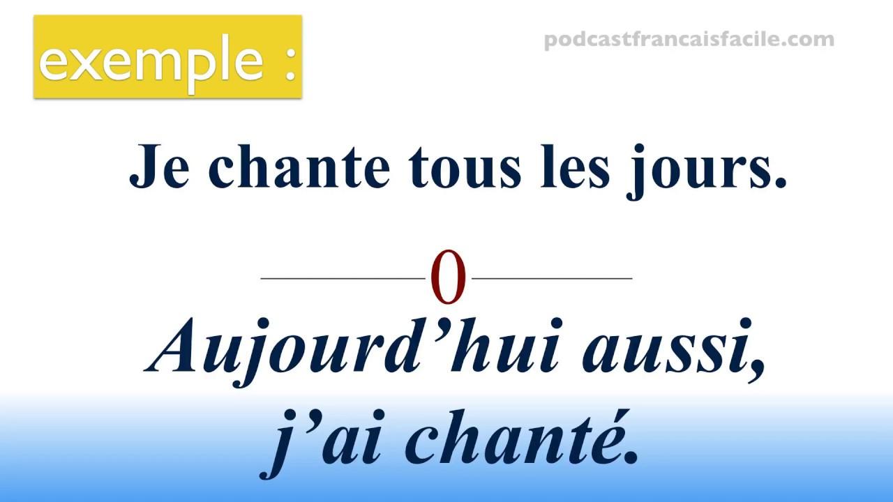Passé Composé Exercice - Podcastfrancaisfacile destiné Exercice Francais Facile