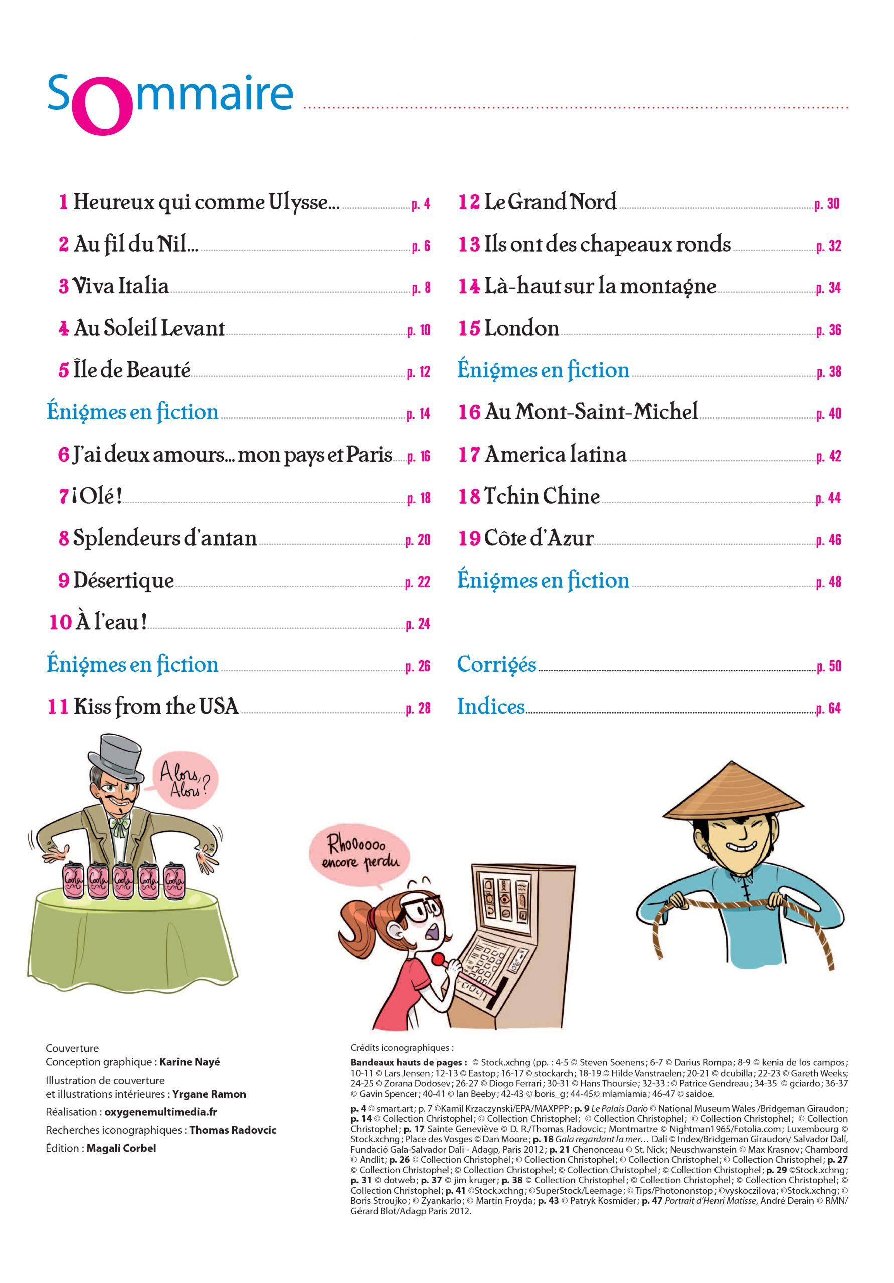 Passeport Adultes Cahier De Vacances - Spécial Enigmes intérieur Cahier De Vacances Adultes Gratuit
