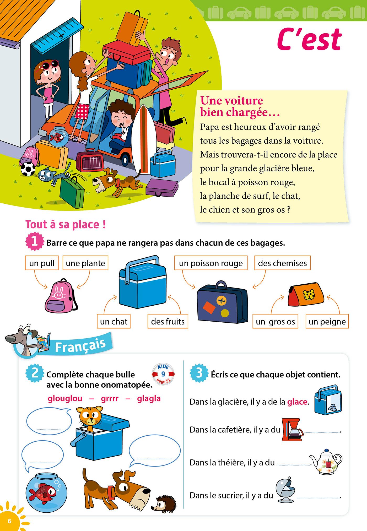 Passeport Cahier De Vacances - Toutes Les Matières Du Cp Au Ce1 - 6/7 Ans serapportantà Cahier De Vacances En Ligne