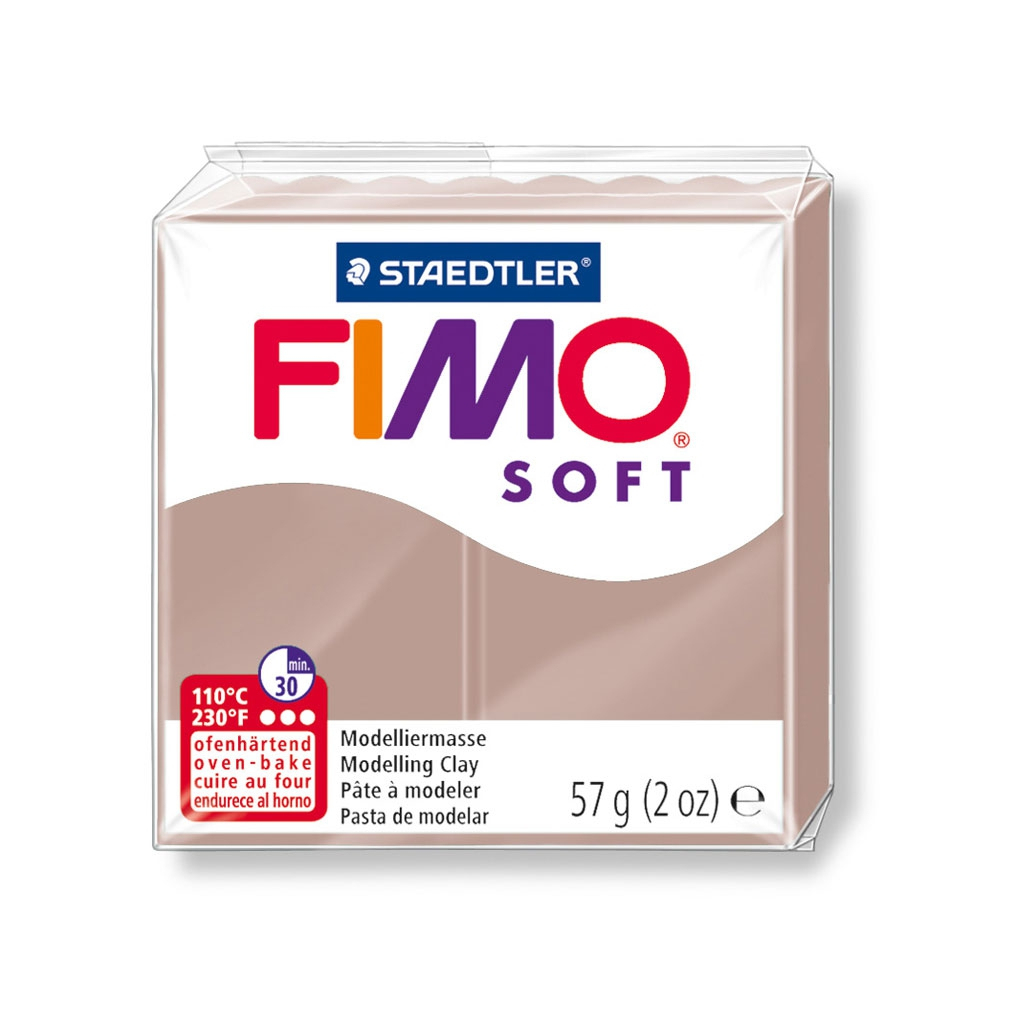 Pâte Fimo Soft 57Gr Taupe (N°87) tout Code Couleur Taupe