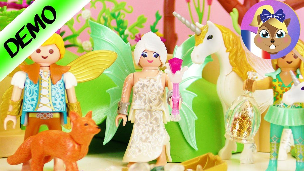 Pays Des Fées Playmobil Avec Licornes Et Pierres Précieuses | Construction  Playmobil Joue Avec Moi à Jeux De Fee Gratuit