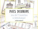 Pays D'europe : Le Jeu De 7 Familles À Télécharger pour Jeux De Cm1 Gratuit