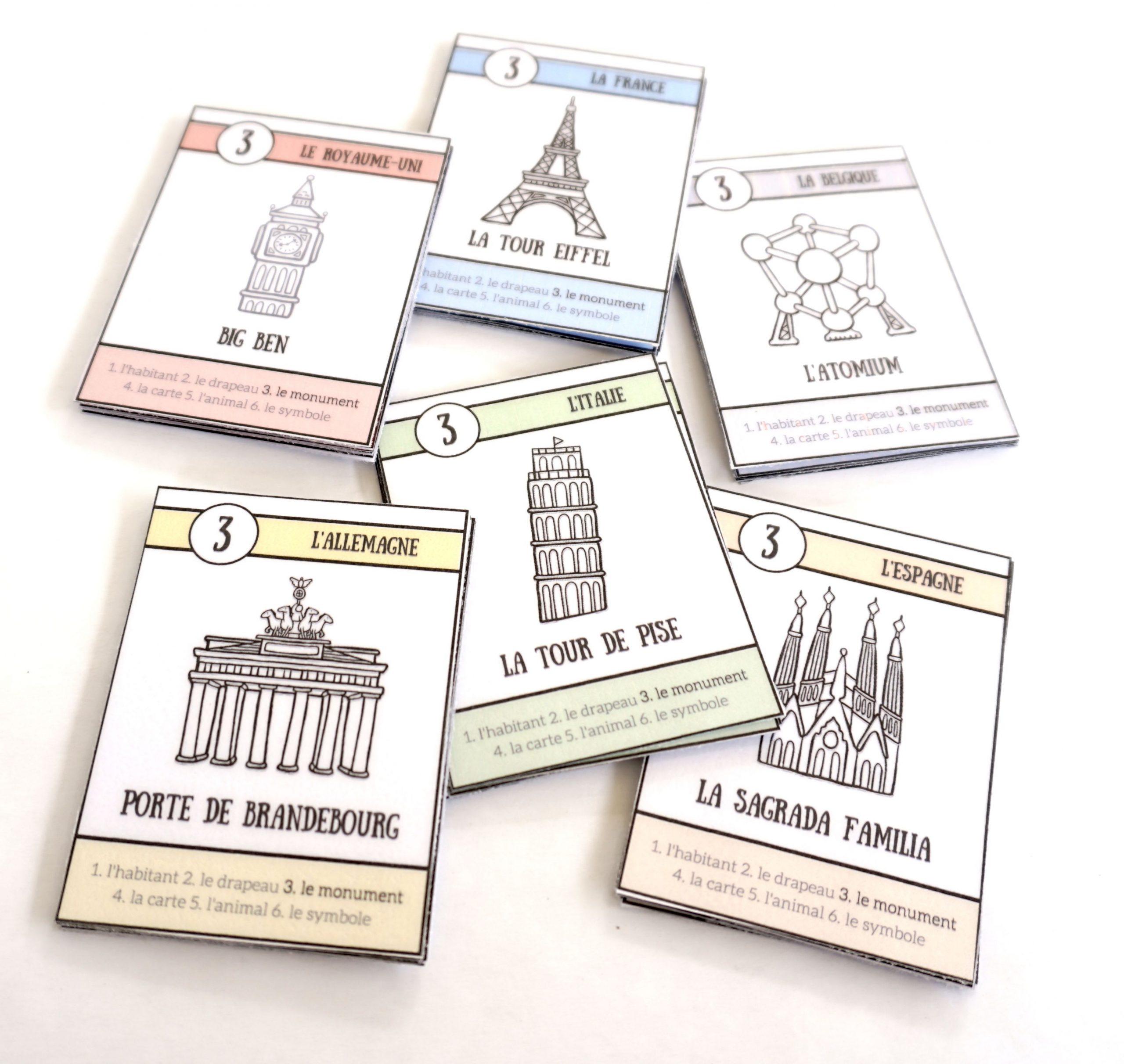 Pays D'europe : Le Jeu De 7 Familles À Télécharger serapportantà Jeux De Cartes Gratuits À Télécharger En Français