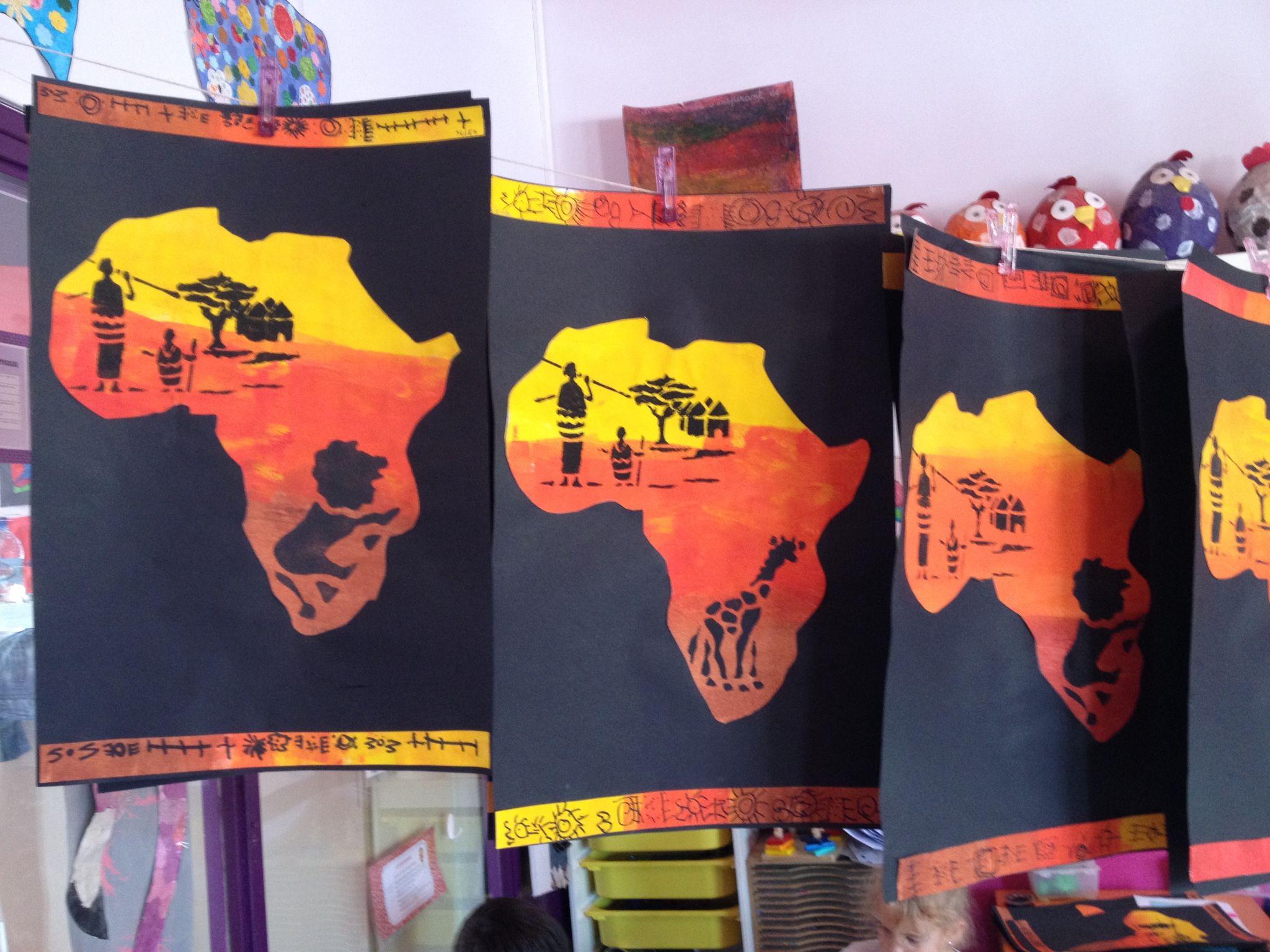 Paysage D'afrique - La Maternelle De Vivi | Paysage D à Activité Manuelle Afrique