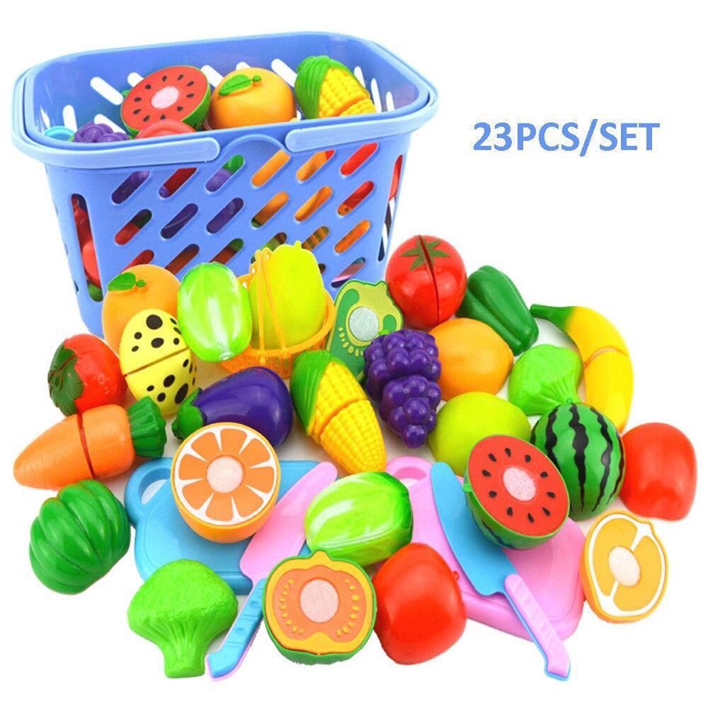 Peeyou-Rpants: Acheter 23 Pcs Ensemble Jouer À Faire destiné Jeux De Fruit Et Legume Coupé