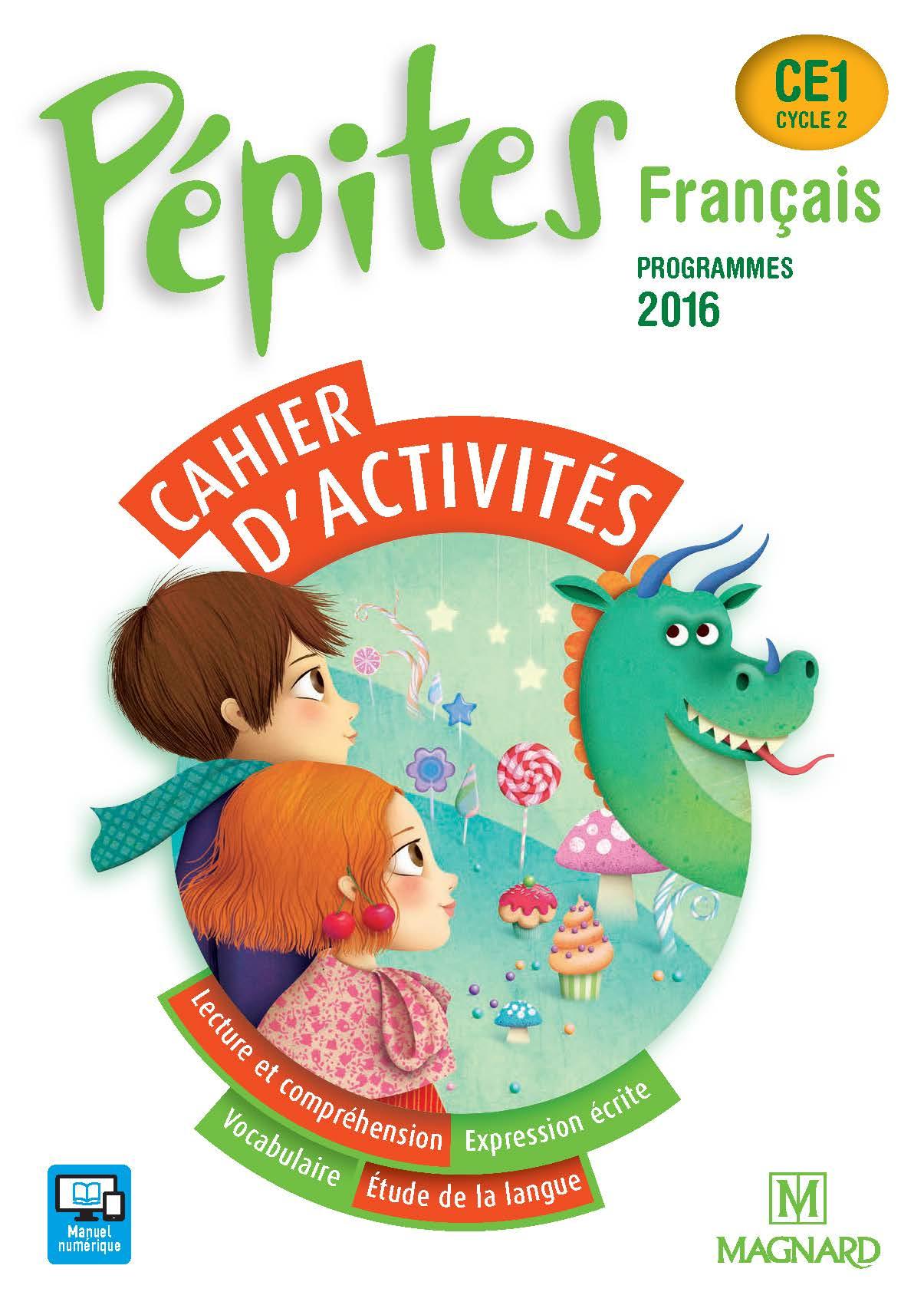 Pépites Ce1 (2017) - Cahier D'activités | Magnard Enseignants destiné Activité Manuelle Pour Cp