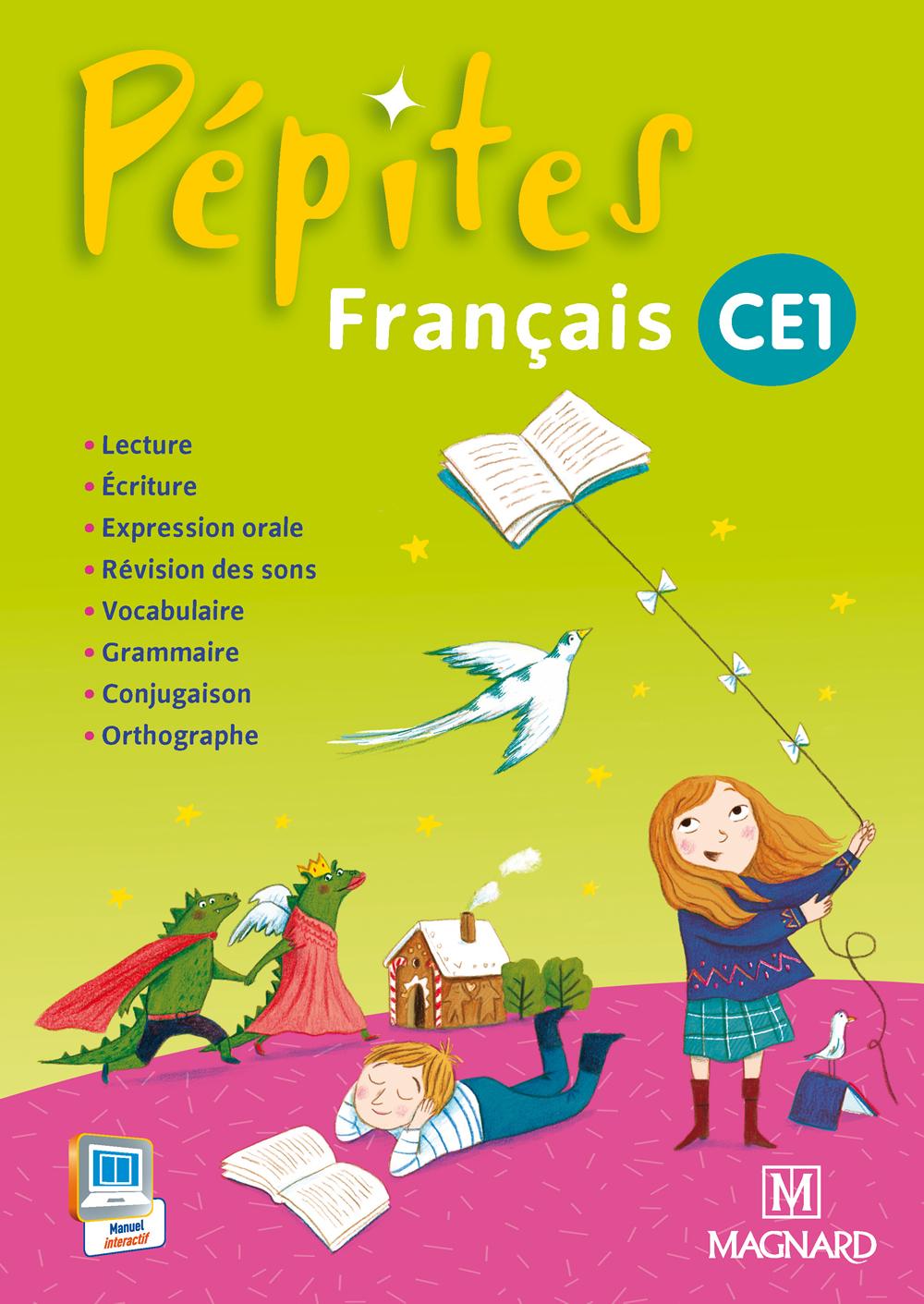 Pépites Français Ce1 - Livre De L'élève | Magnard Enseignants destiné Activité Manuelle Pour Cp