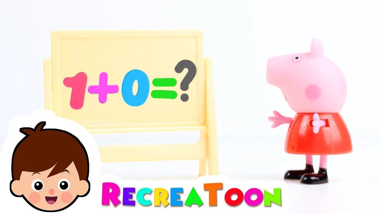Peppa Pig - Apprendre Les Chiffres - Jouet Peppa Pig En Français - Peppa  Pig En Français - Play Doh destiné Apprendre Les Chiffres En Français