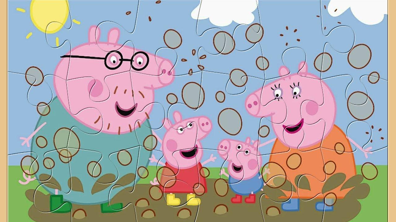 Peppa Pig Français - Jeux De Puzzle Spécial Pour Les Enfants tout Jeux De Puzzle Enfant