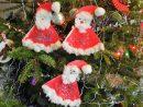 Père-Noël En Filtre À Café - Le Pays Des Merveilles pour Activité Manuelle Noel 3 Ans