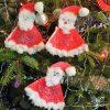 Père-Noël En Filtre À Café - Le Pays Des Merveilles tout Activités Manuelles 3 Ans Pour Noel