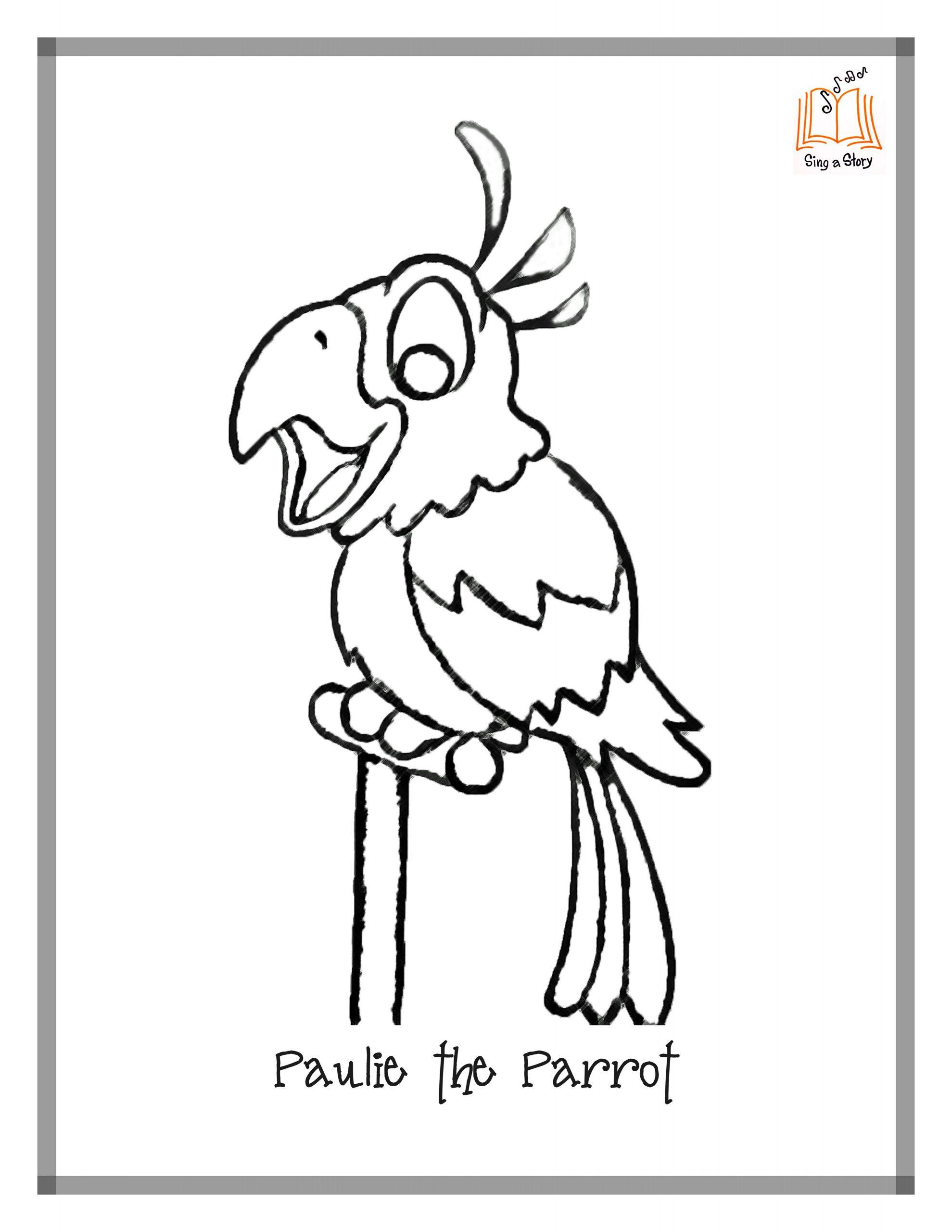 Perroquet #120 (Animaux) – Coloriages À Imprimer à Perroquet Coloriage A Imprimer