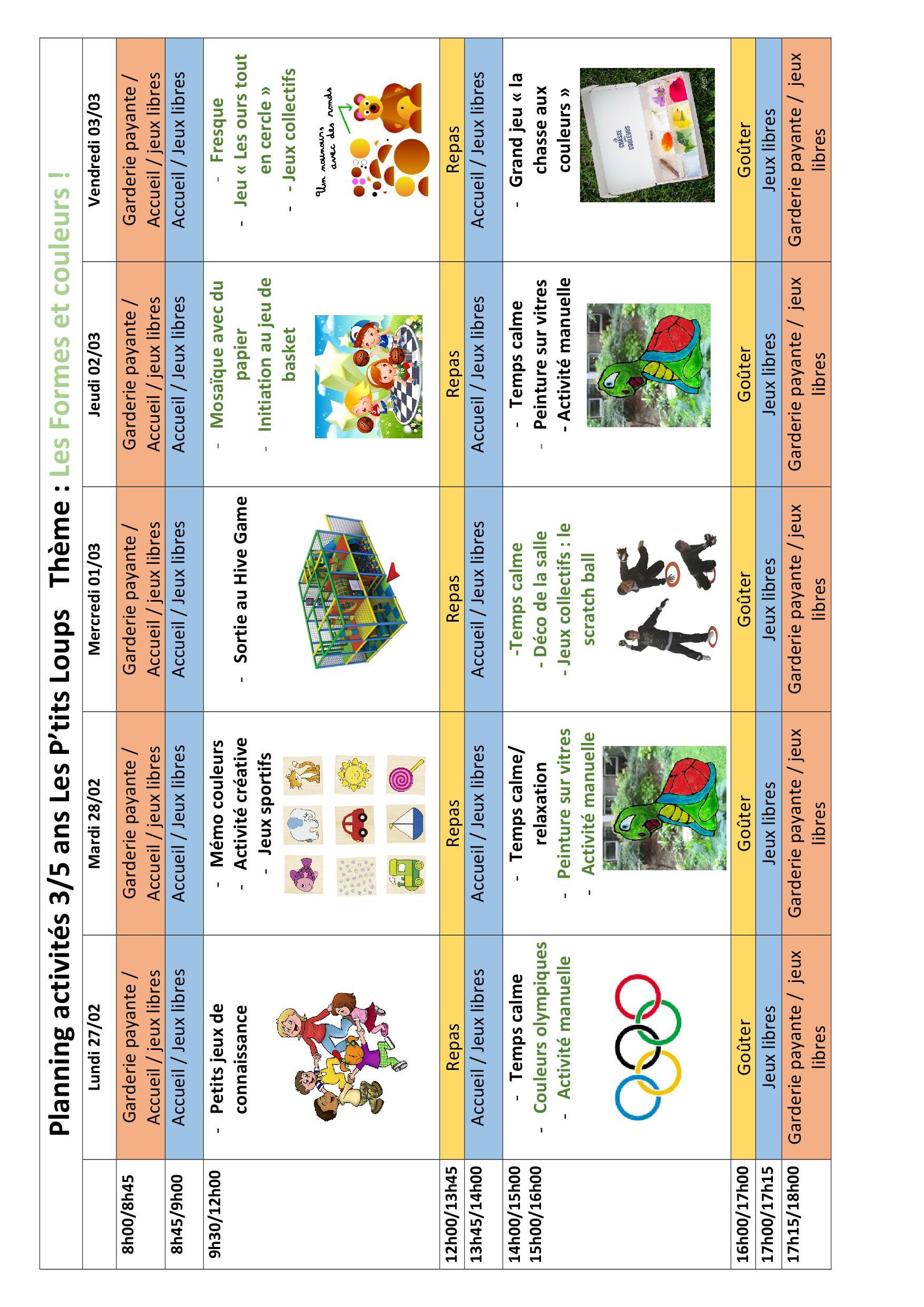 Petite-Enfance Archives - Page 4 Sur 8 - Centre Social Et concernant Petit Jeux 3 5 Ans