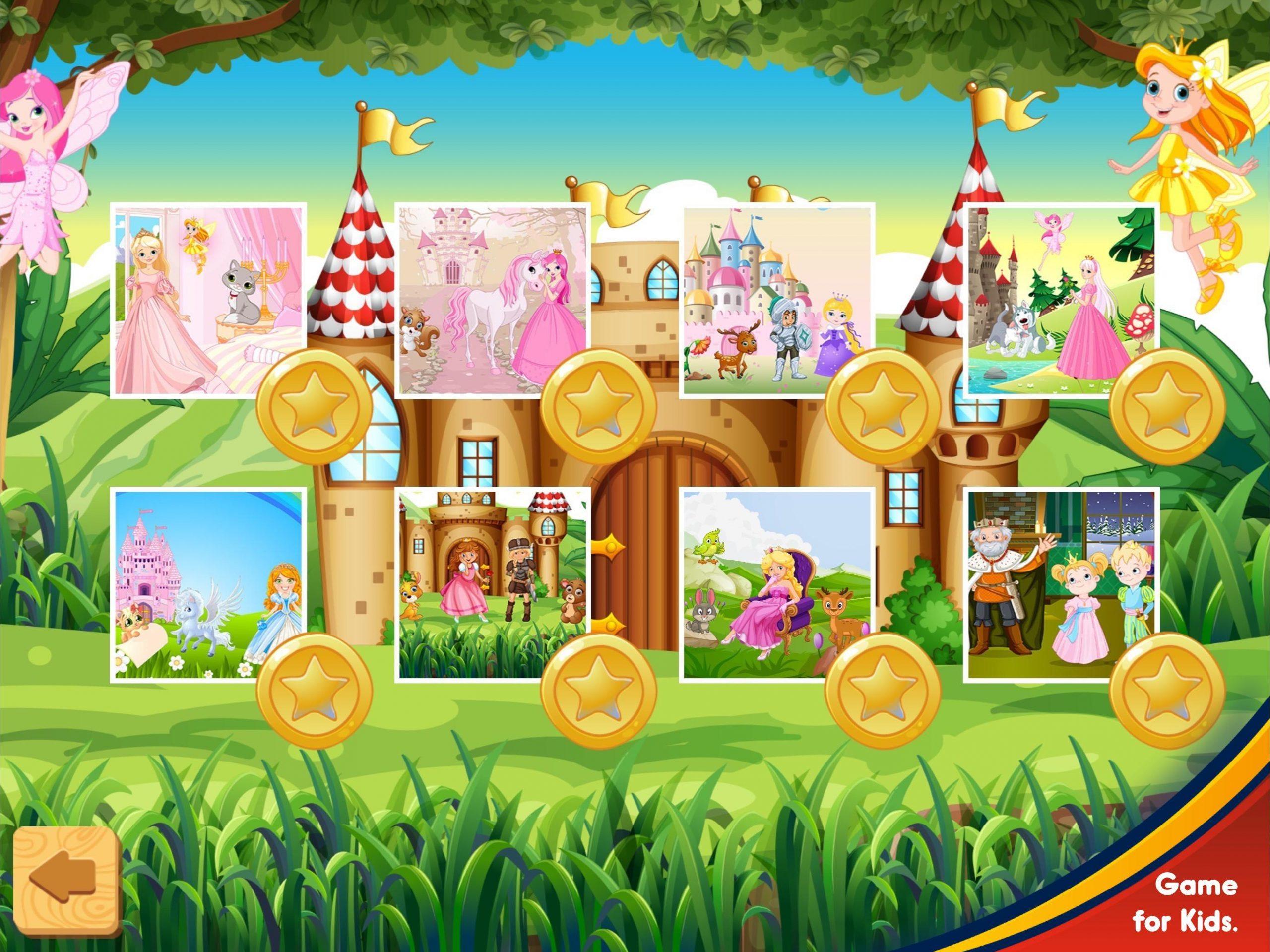 Petite Princesse Puzzle - Jeux De Fille Facile Pour Android avec Jeux De Fille Puzzle