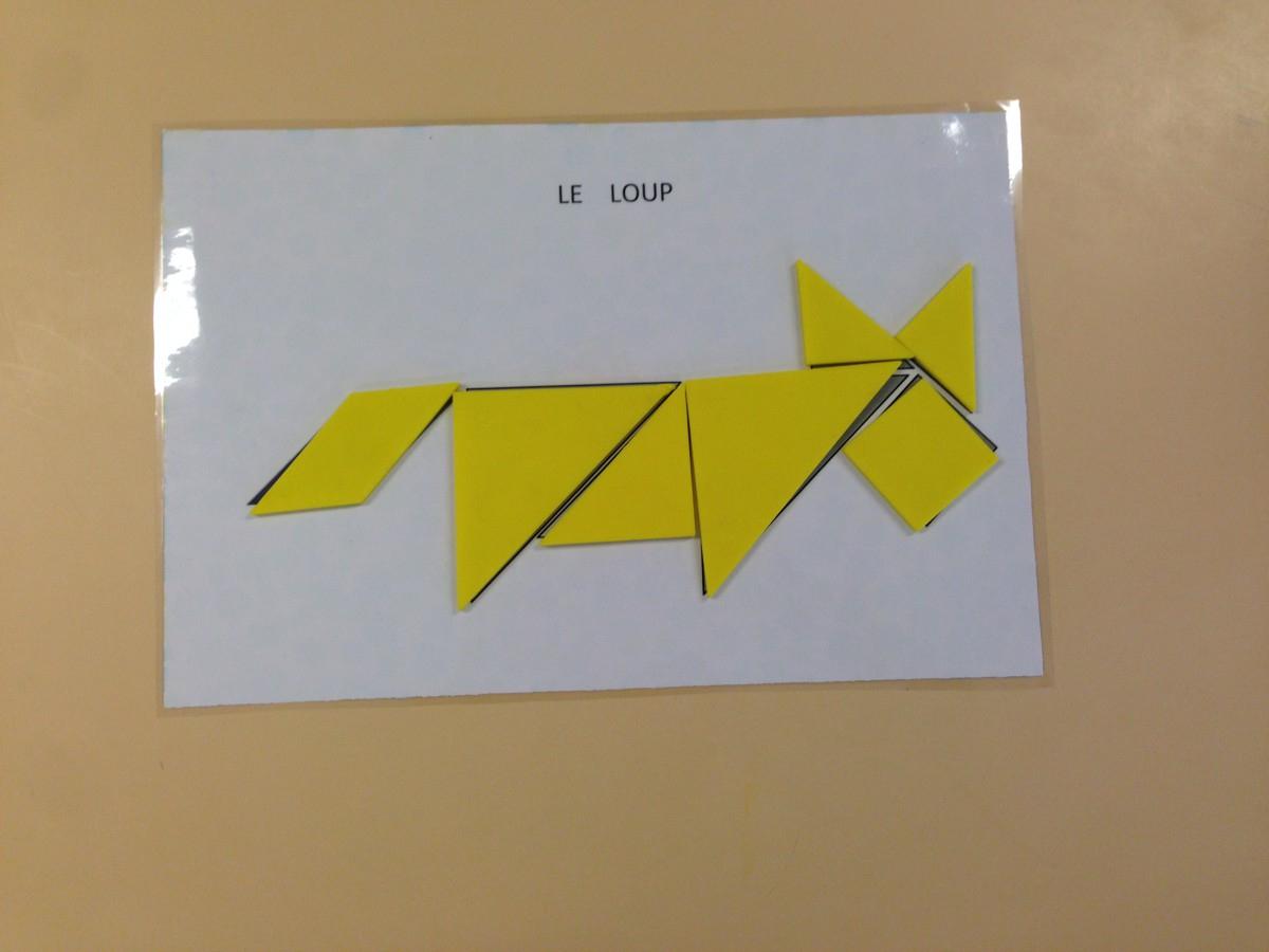 Pierre Et Le Loup (Période 5) Ms | La Maternelle De Wendy pour Tangram Grande Section