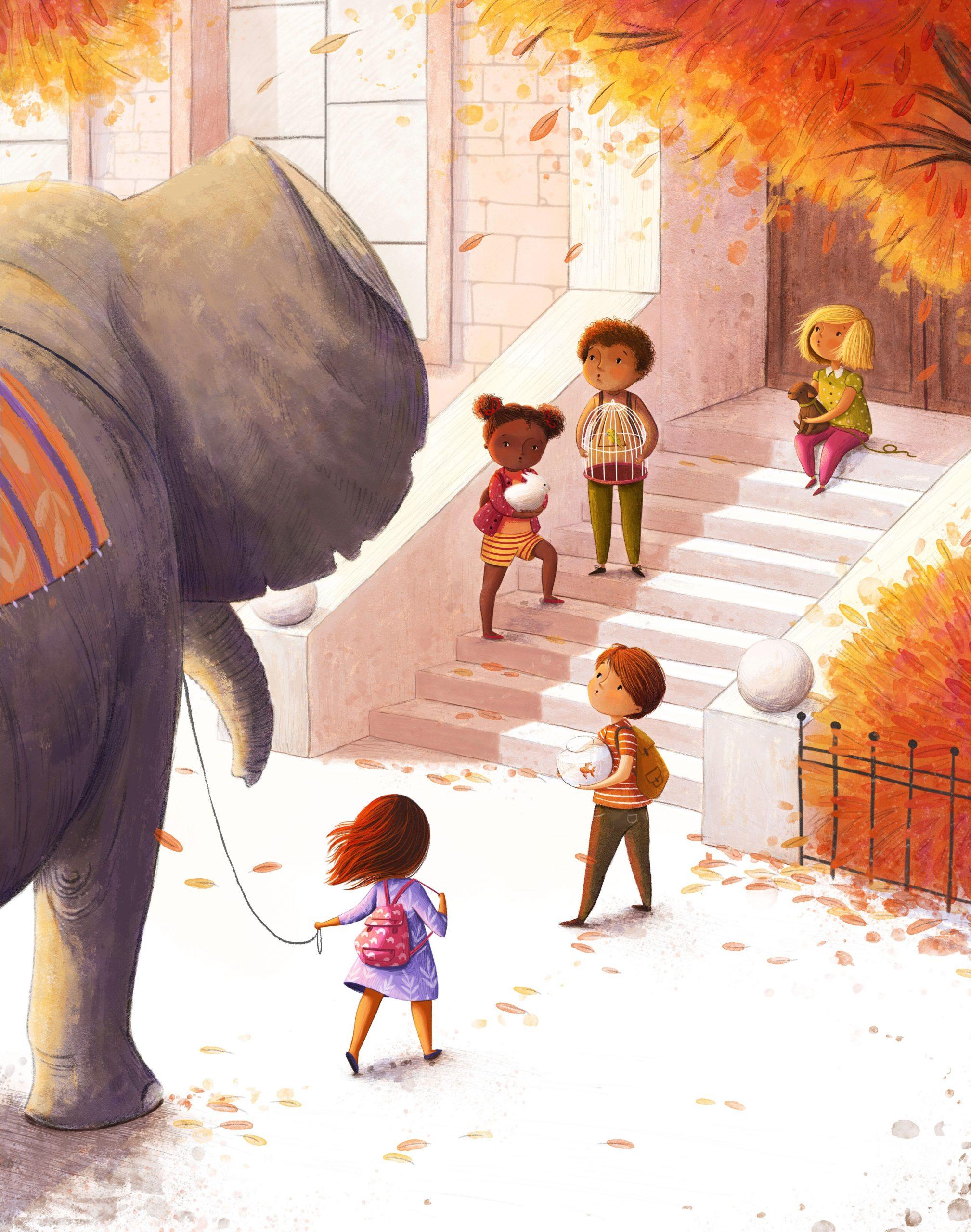 Pin By Lulú On Elefantes<3 In 2020 | Autumn Illustration destiné Lulu Impression