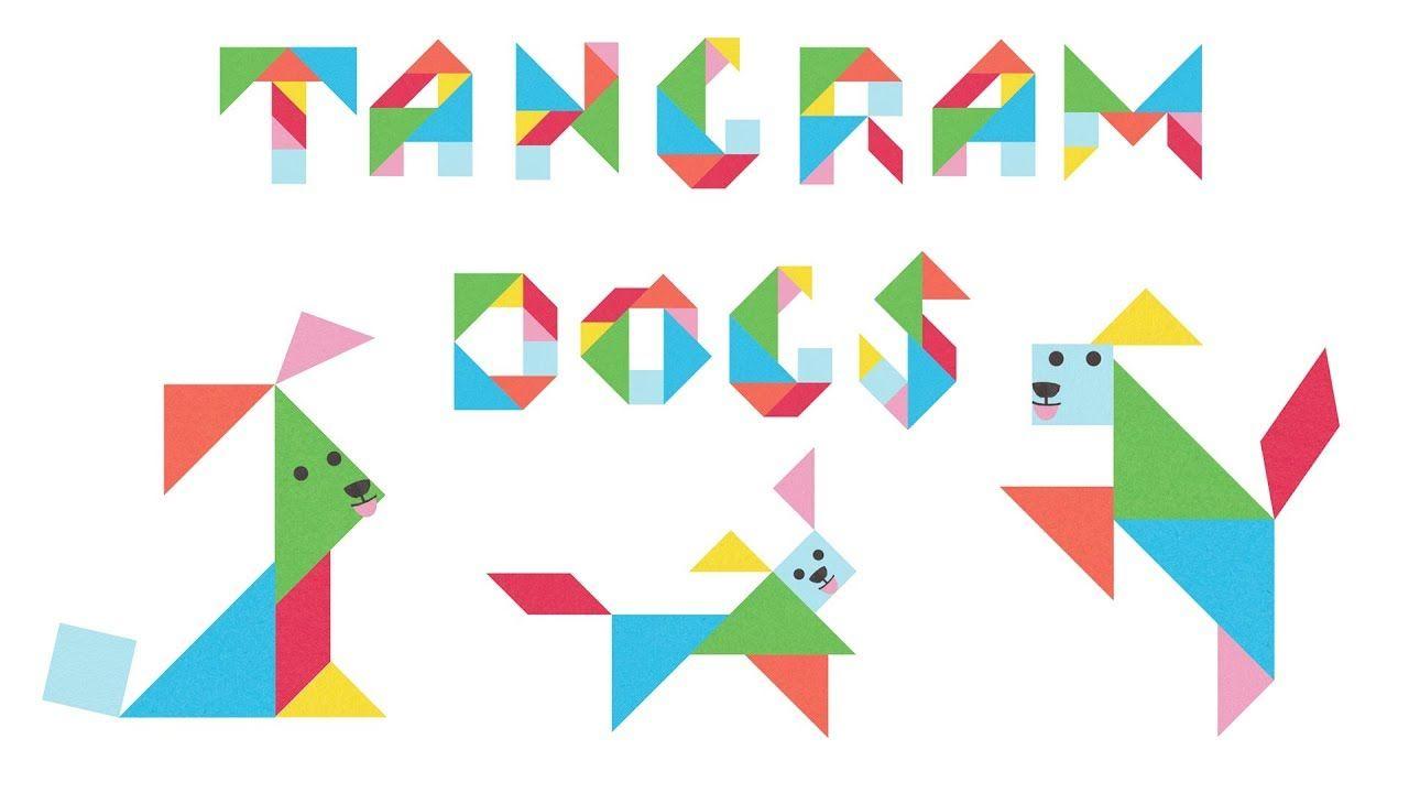 Pin On Tangrams avec Tangram Grande Section